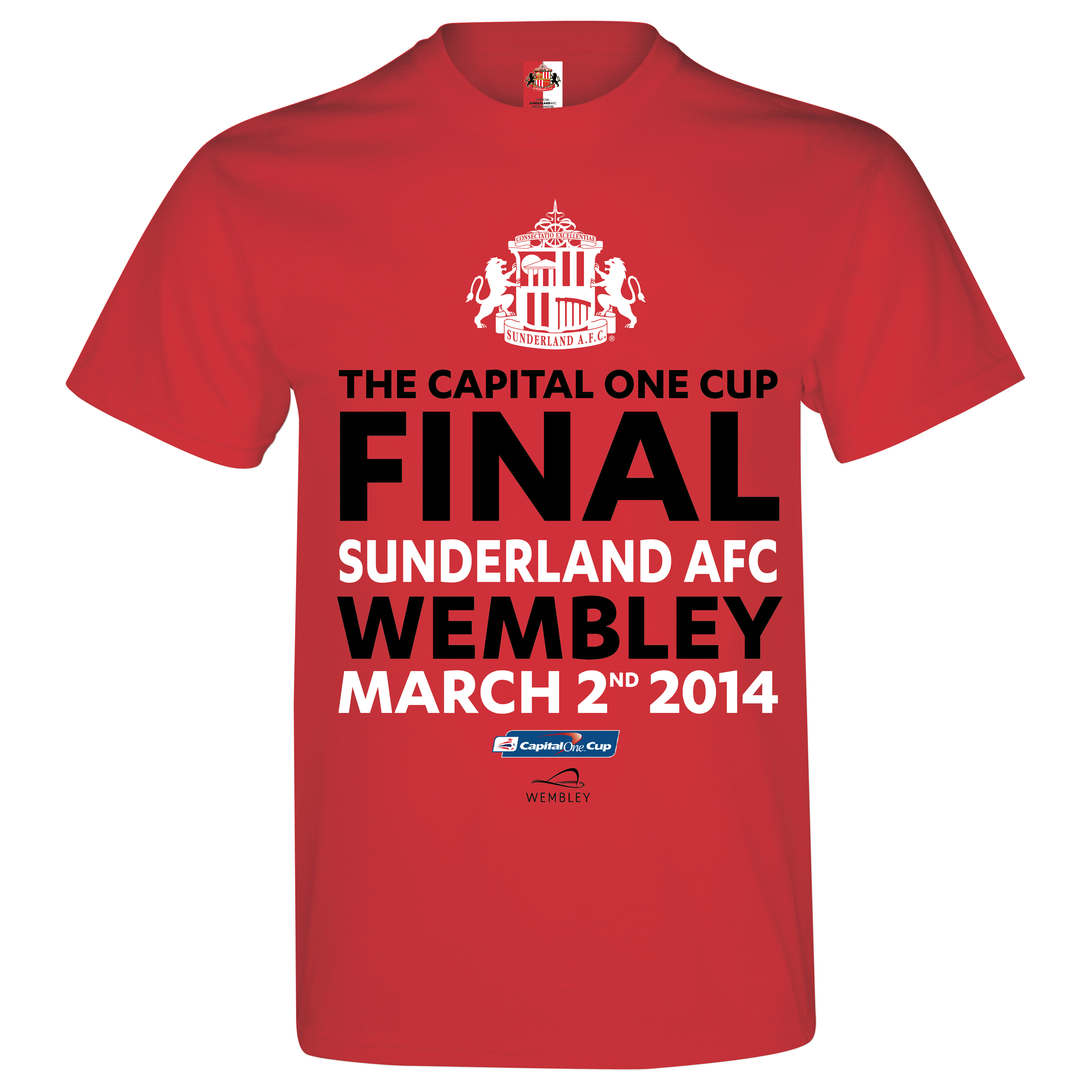 Sunderland Capital One Cup Final T-Shirt