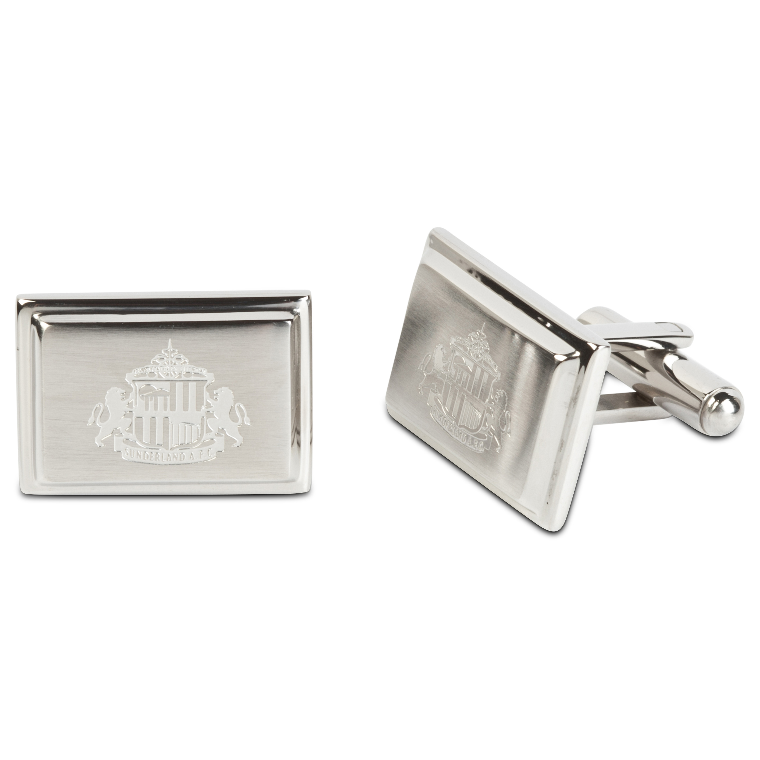 Sunderland Stainless Steel Rectangular Cufflinks
