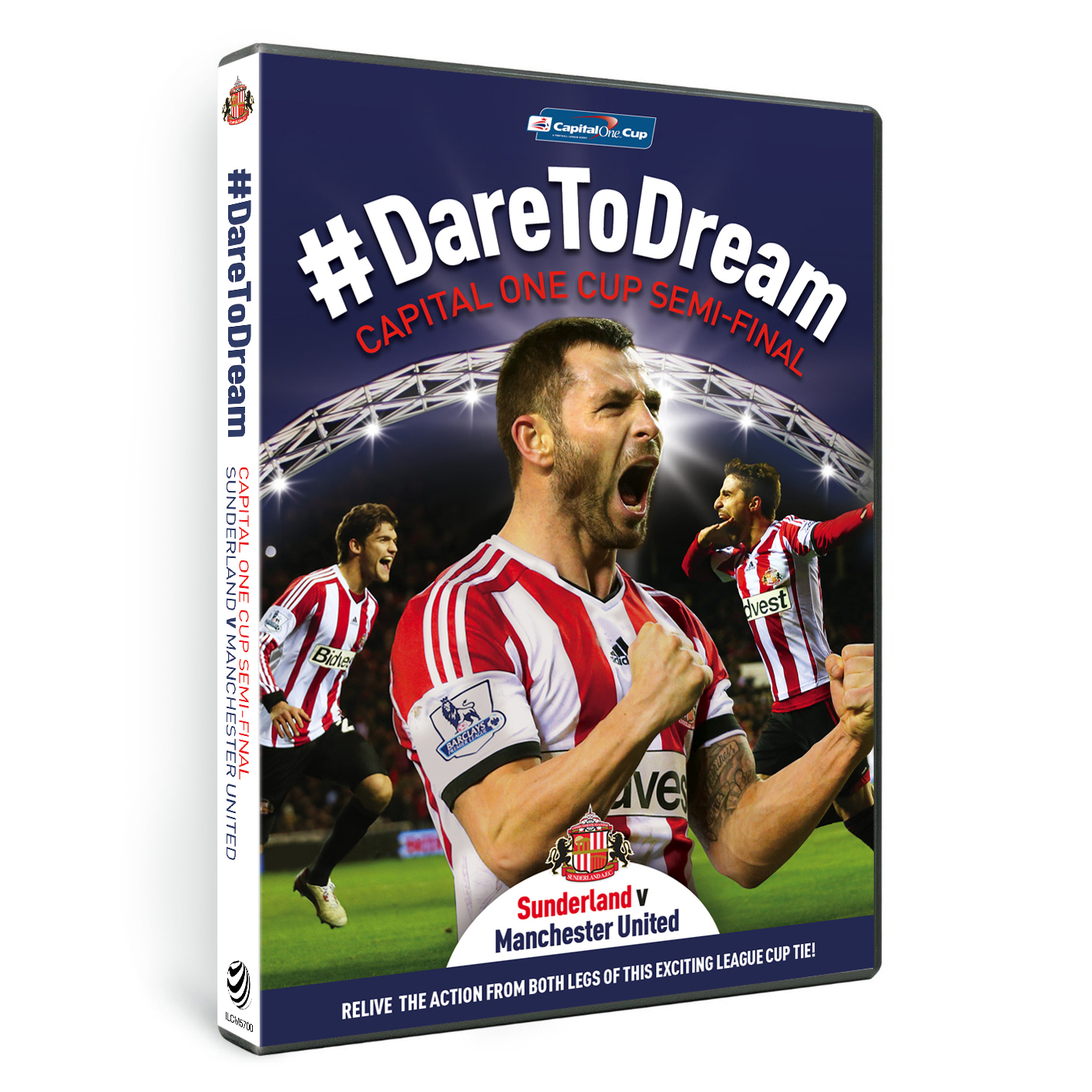 Sunderland DareToDream Capital One Cup Semi Final DVD
