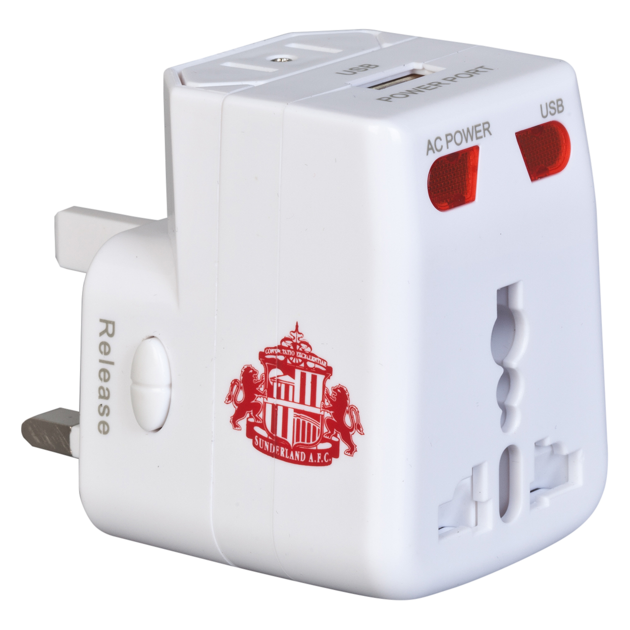 Sunderland USB Travel Adaptor