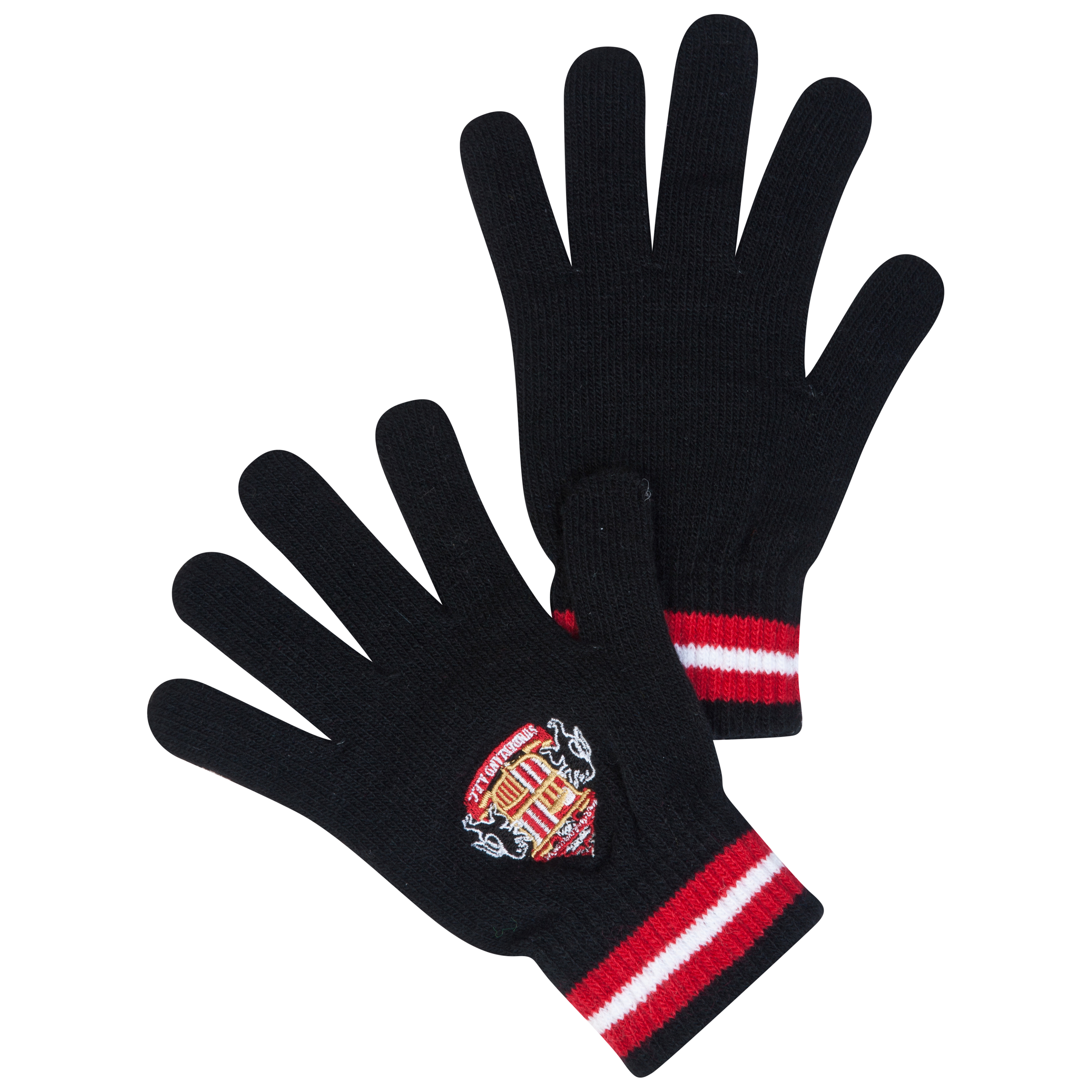 Sunderland Core Knitted Gloves Black