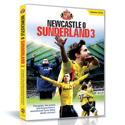 Sunderland 3 v 0 Newcastle United - Derby Win DVD