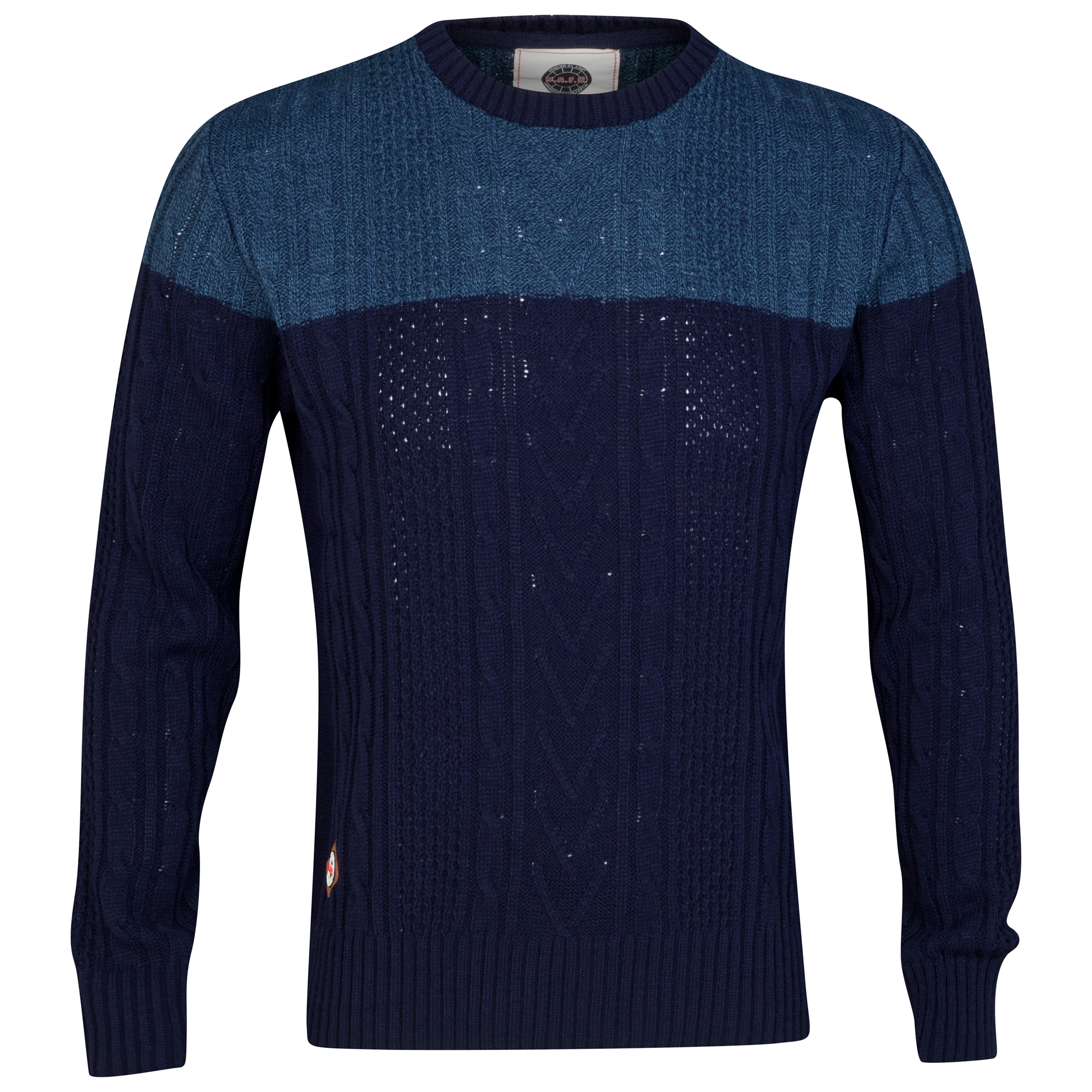 Sunderland Jumper - Navy/Grey - Mens