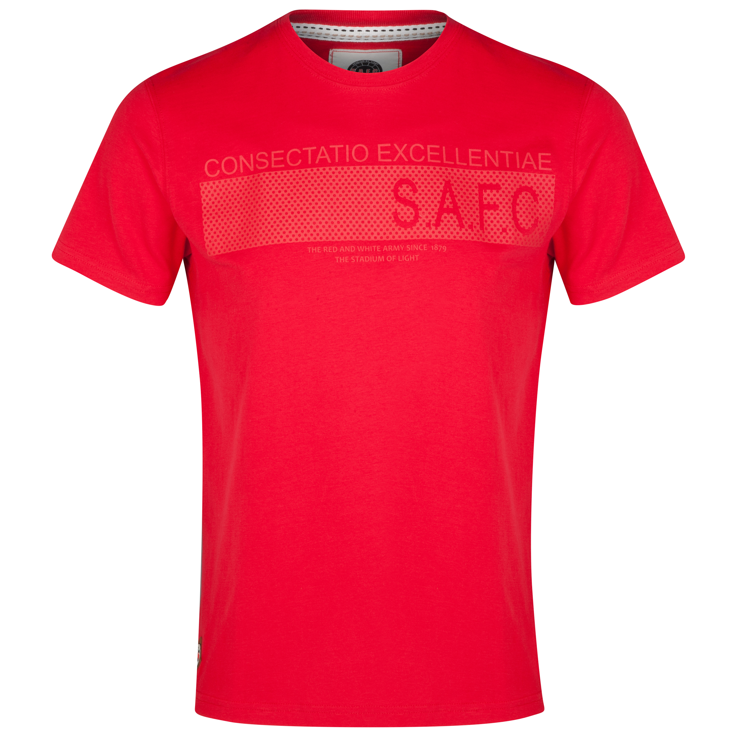 Sunderland T Shirt- Red - Mens