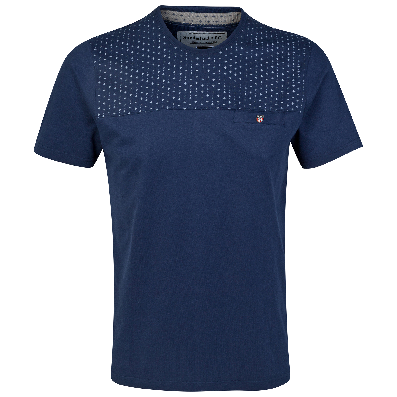 Sunderland T Shirt - Navy - Mens