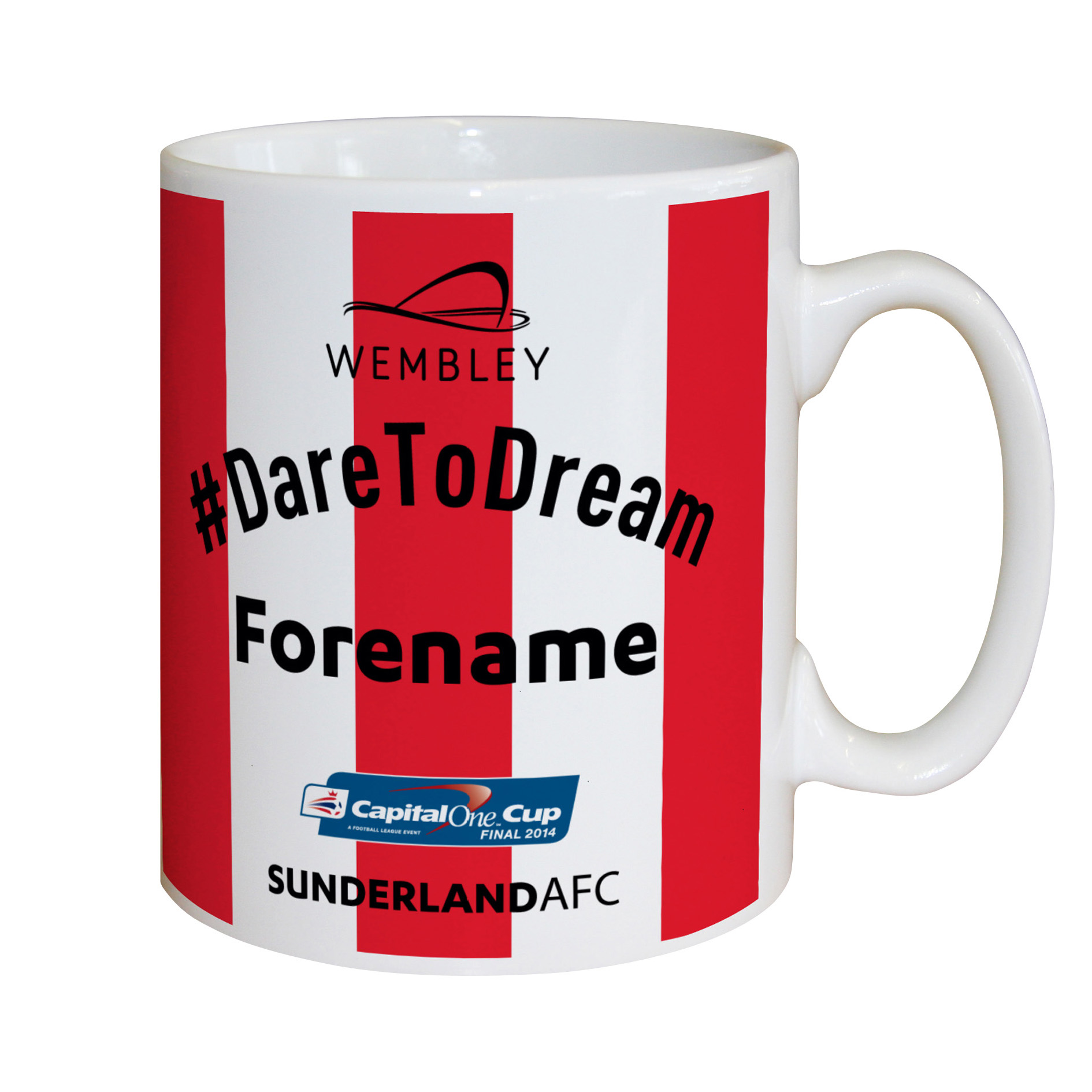 Sunderland Personalised Dare to Dream Mug