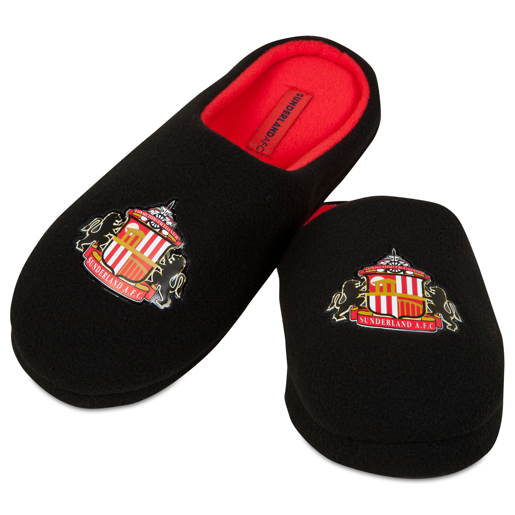 Sunderland Mule Slipper - Black - Mens
