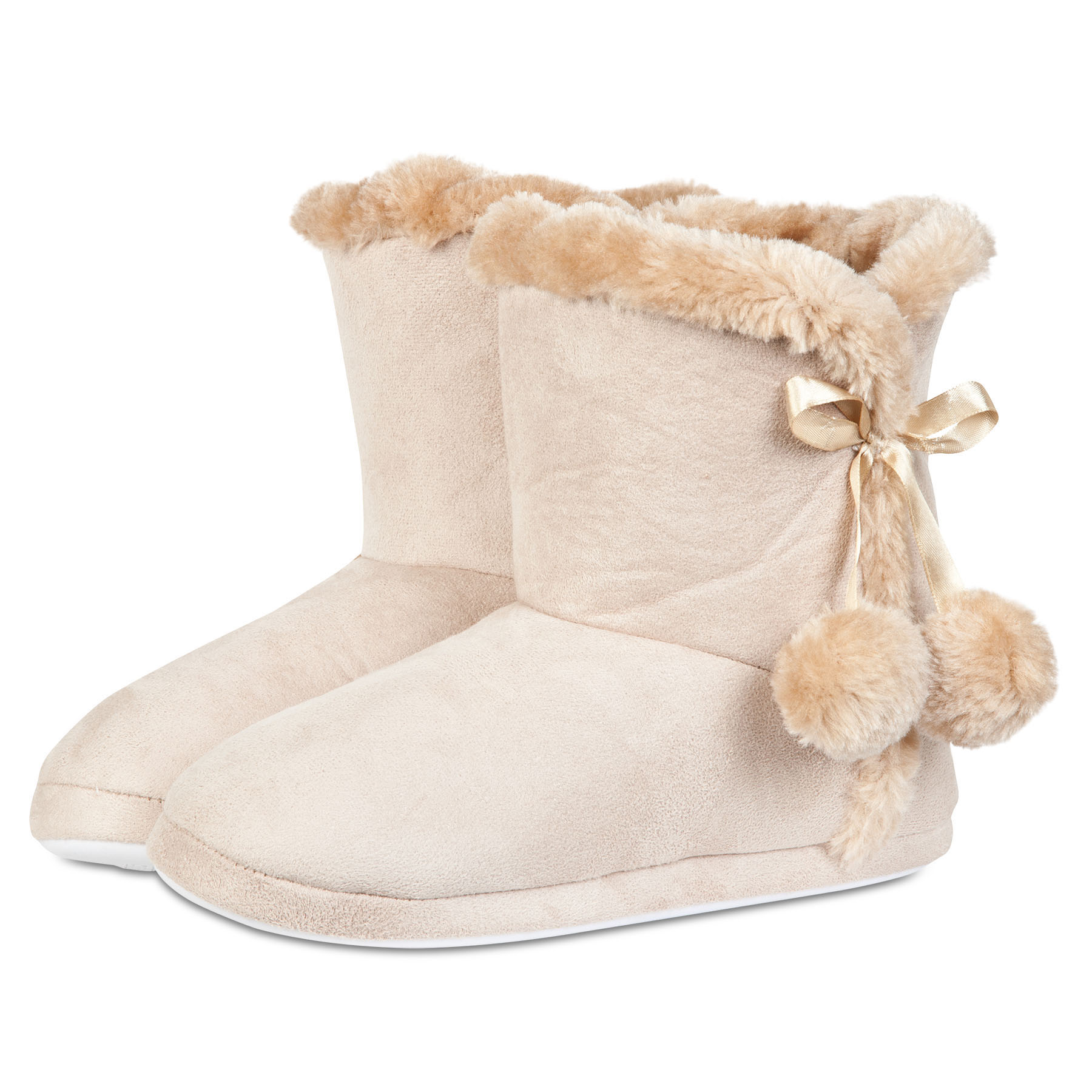 Sunderland Boot Slipper - Tan - Womens