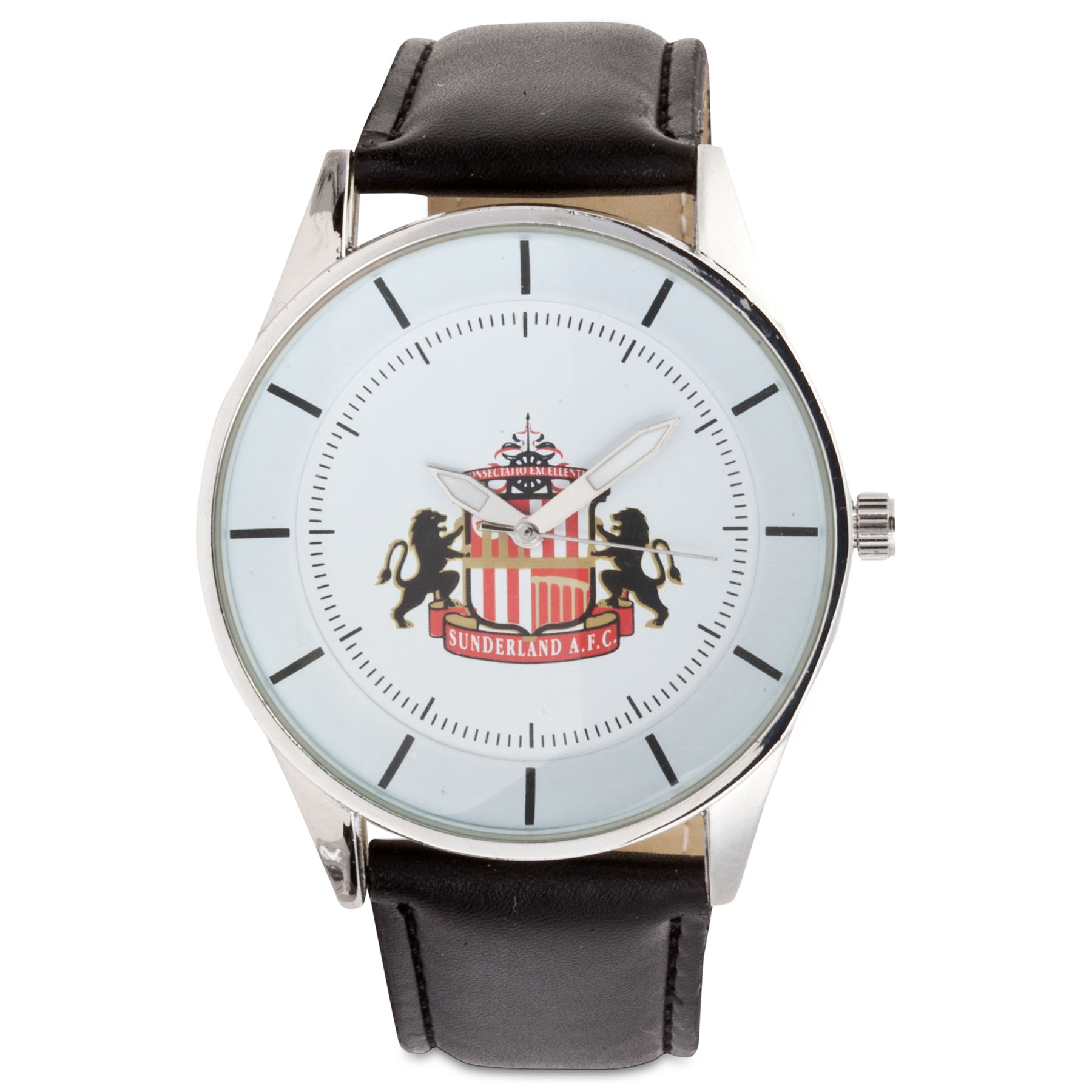 Sunderland Mens Pu Leather Strap Watch
