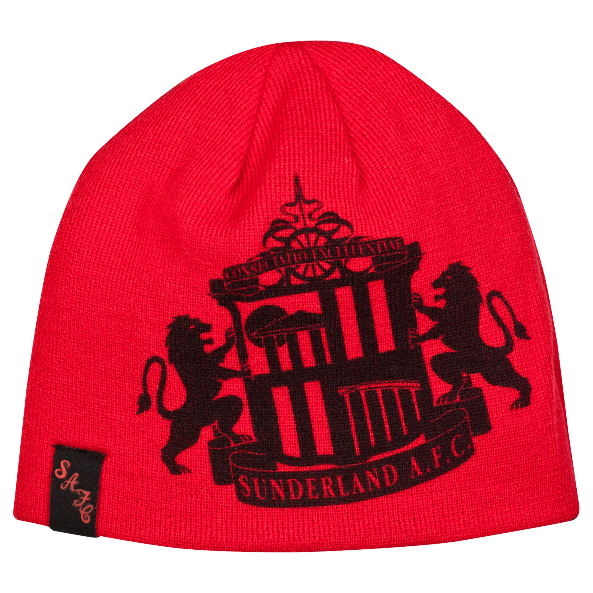 Sunderland Hat - Red/Black - Adult