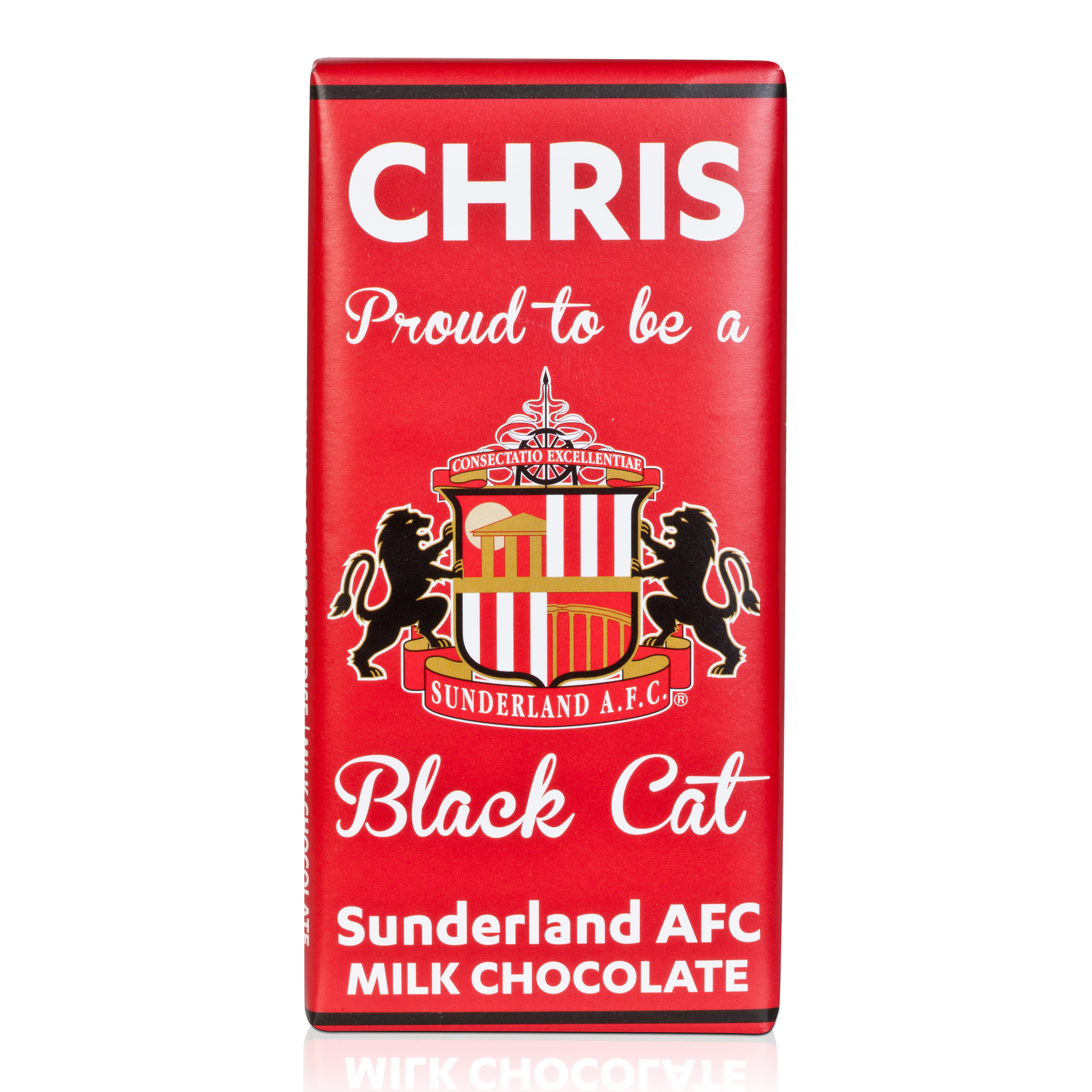 Sunderland Personalised Chocolate Bar