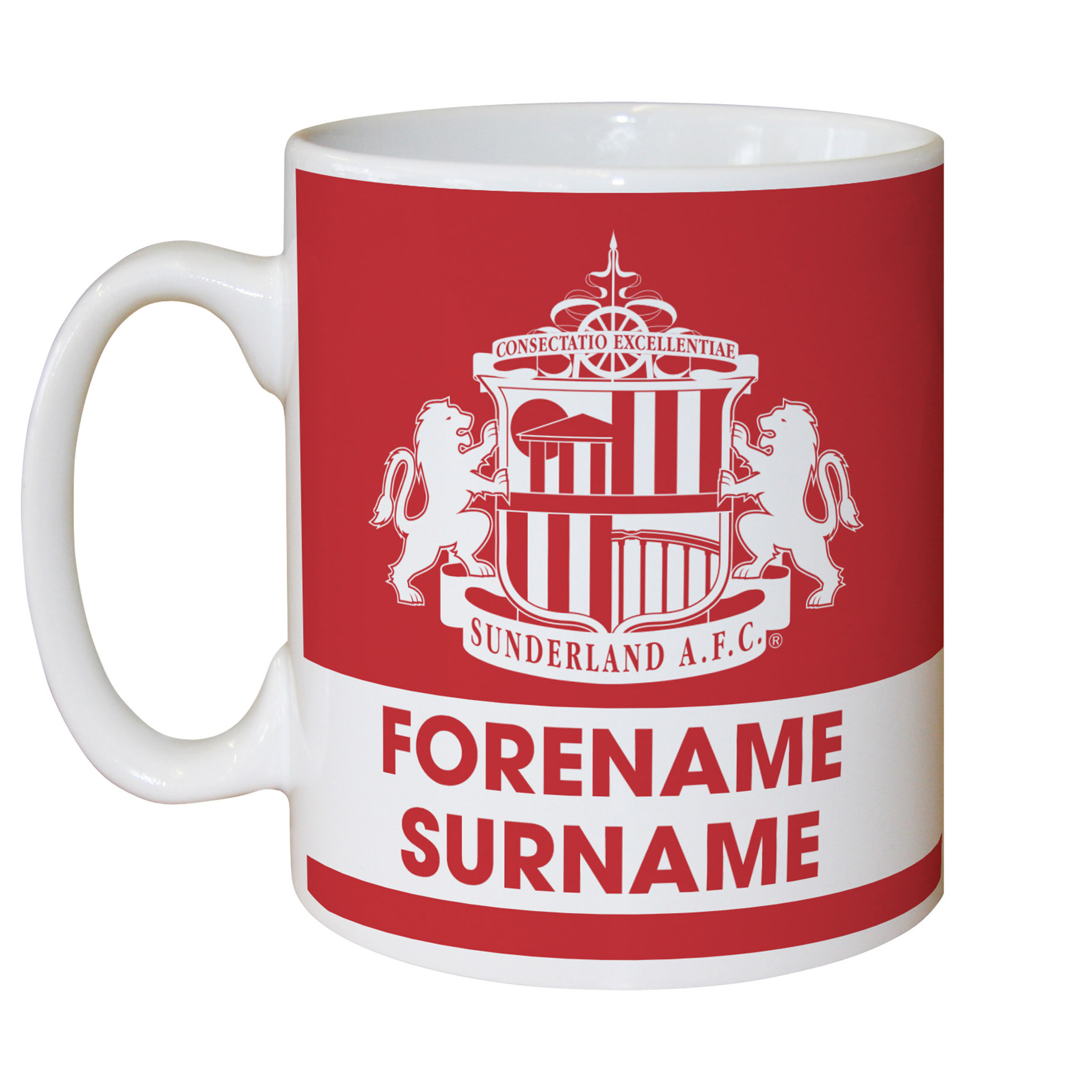 Sunderland Personalised Eat Sleep Drink Mug