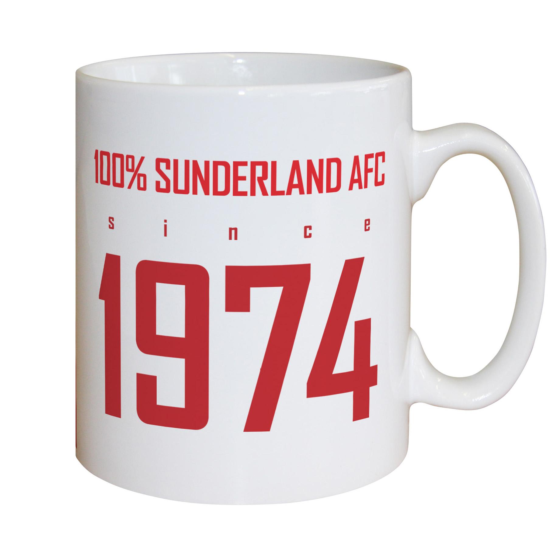 Sunderland Personalised 100 Percent Sunderland Mug