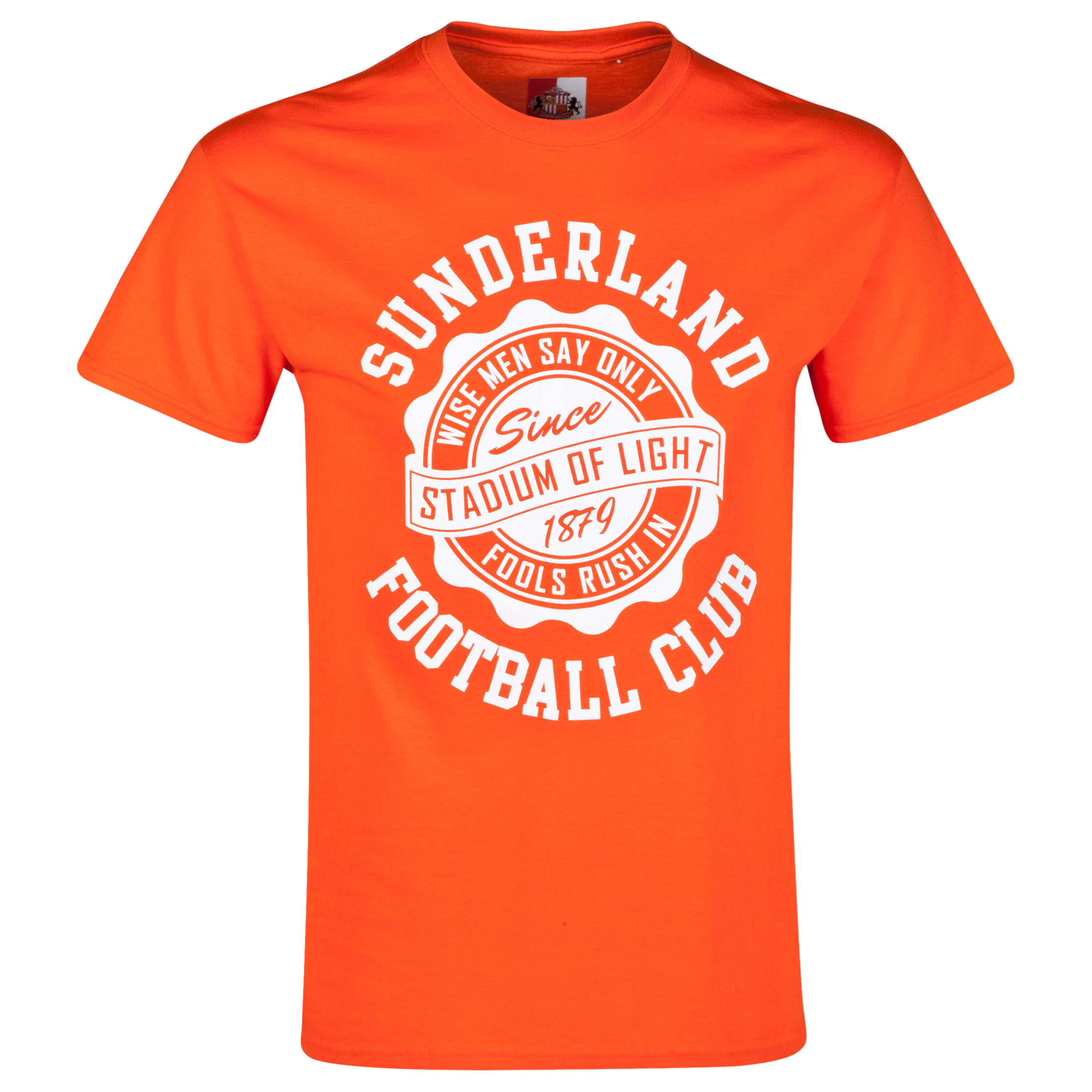 Sunderland 2 for 20 Dial T-Shirt Orange