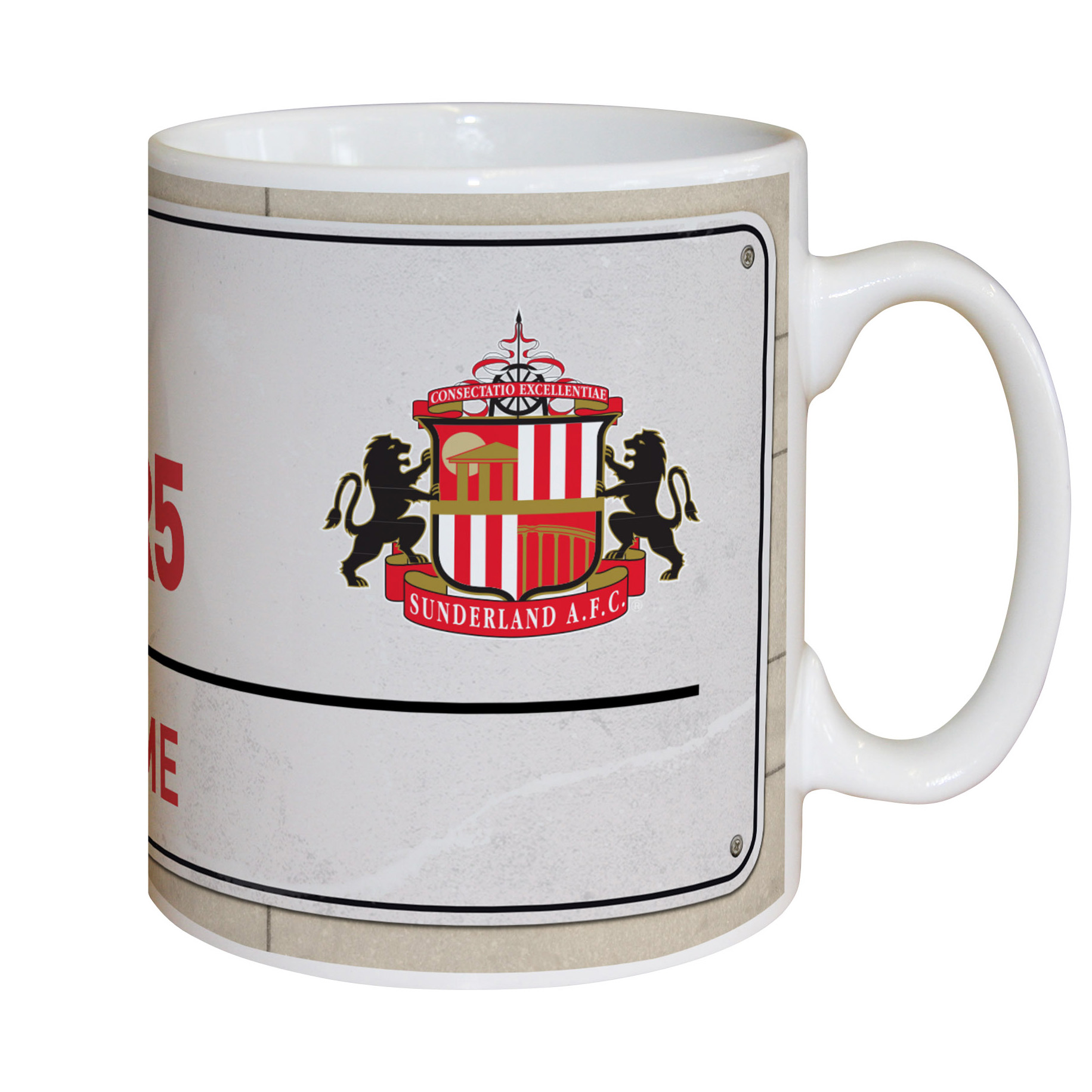 Sunderland Personalised Street Sign Mug