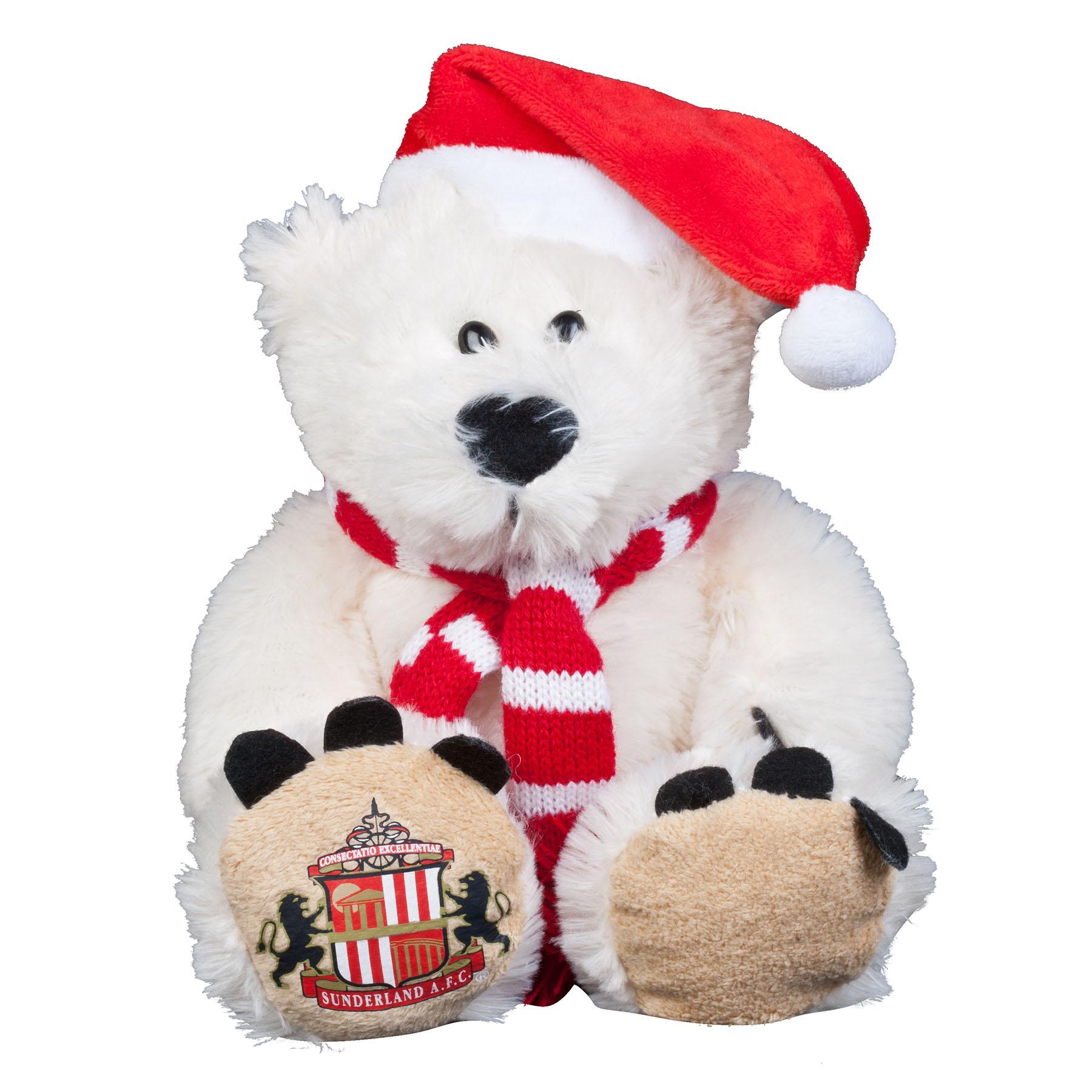 Sunderland 8 Inch Polar Bear With Scarf