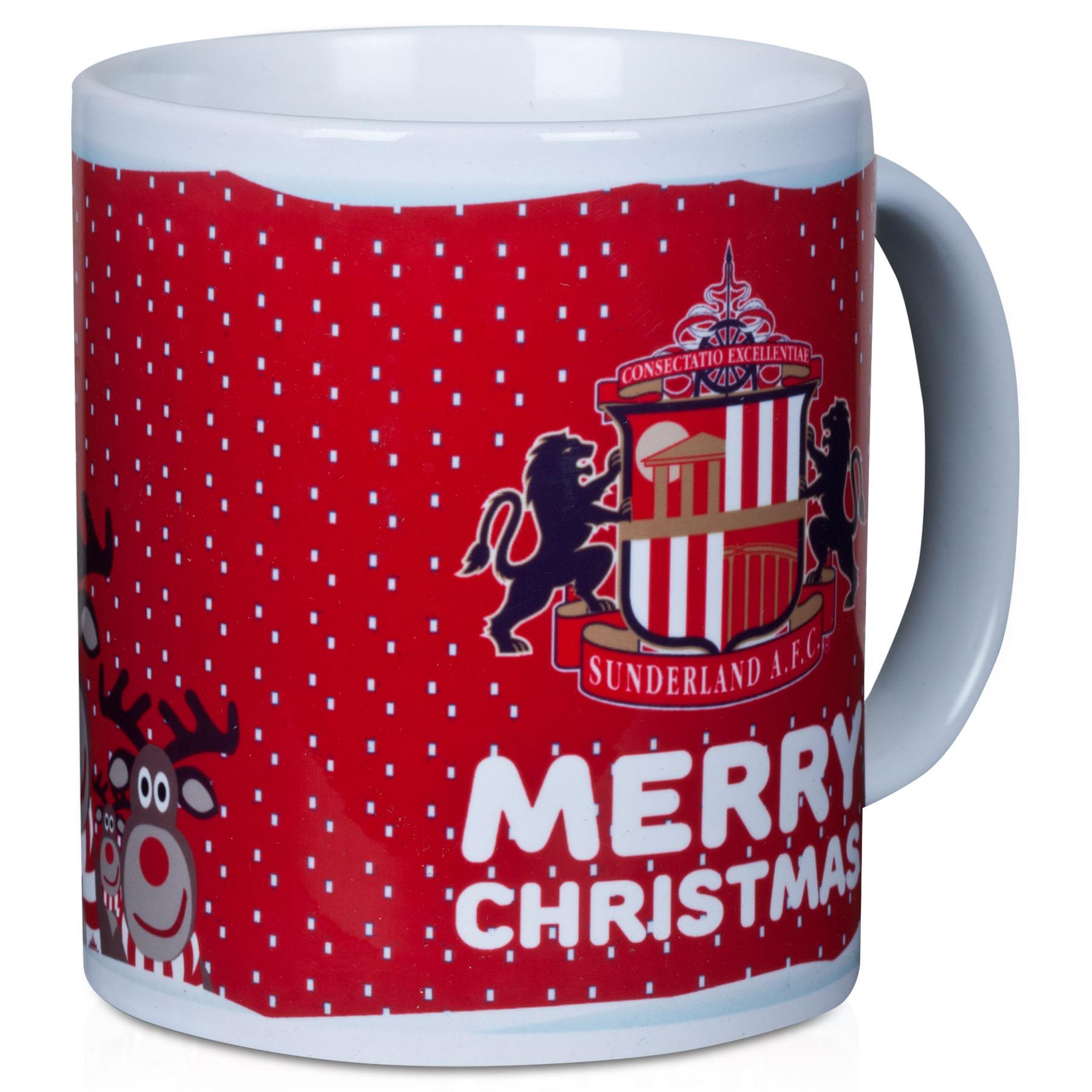 Sunderland Christmas Mug In Gift Box