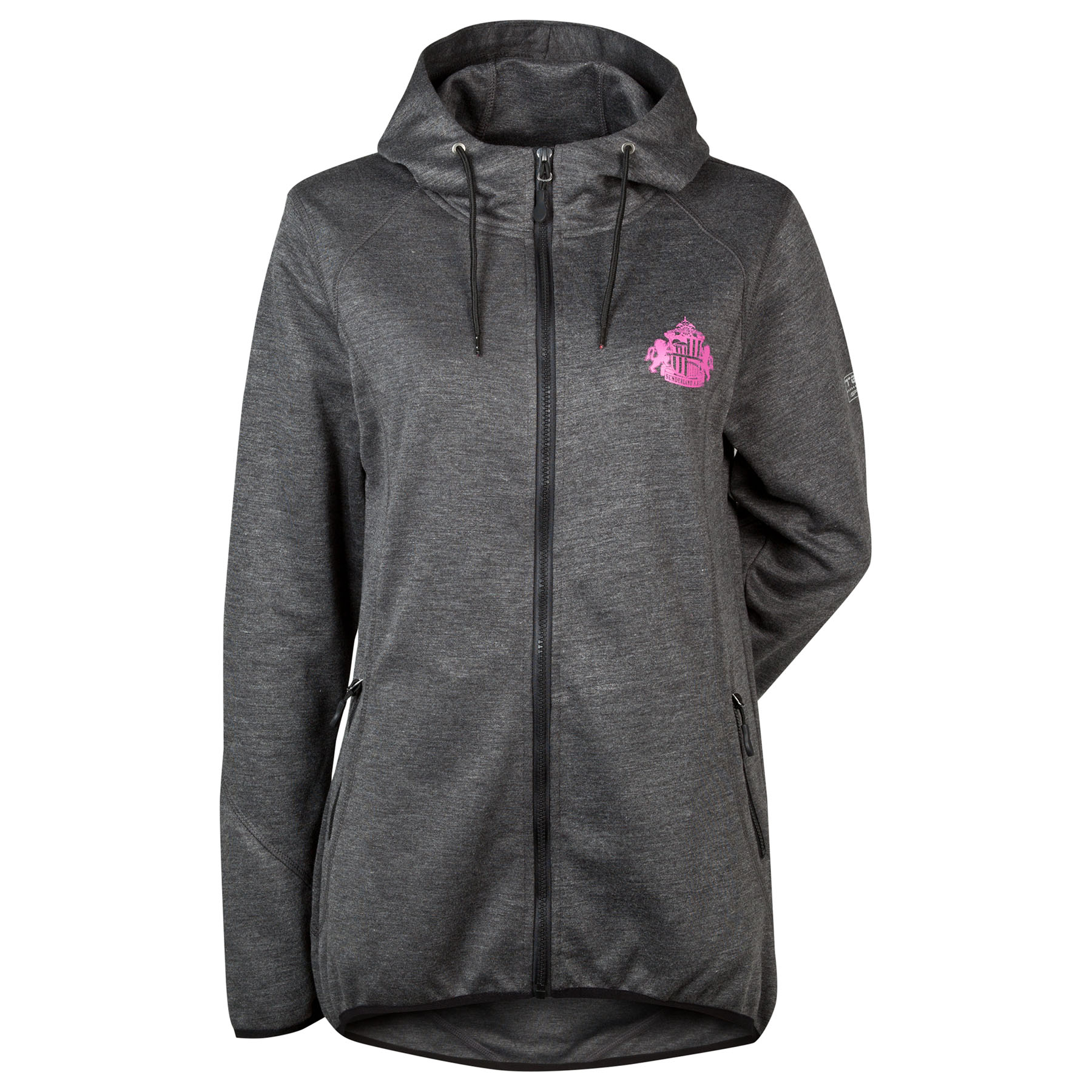 Sunderland Performance Tech hoodie - Charcoal Marl - Womens
