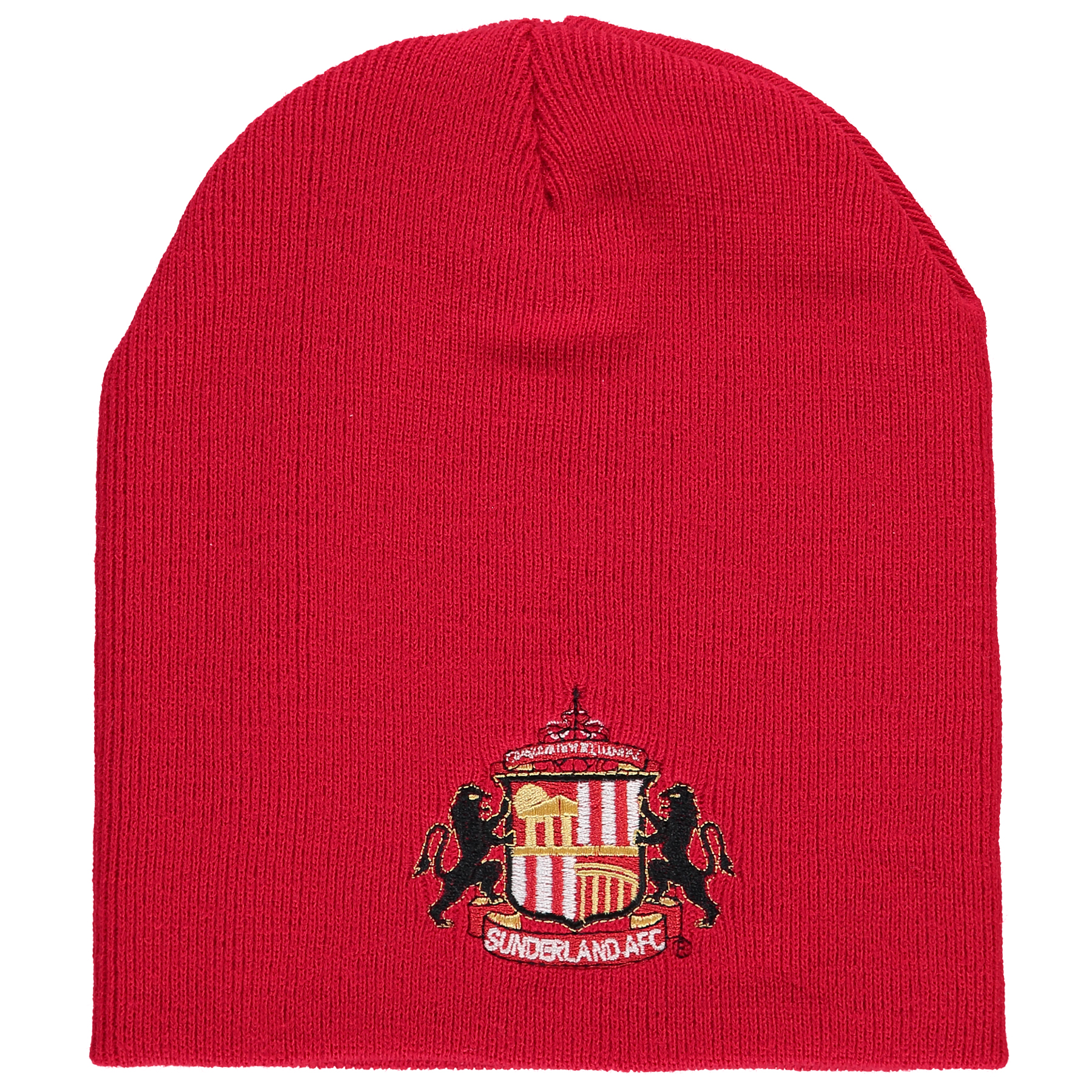 Sunderland Beanie Hat - Red - Adult