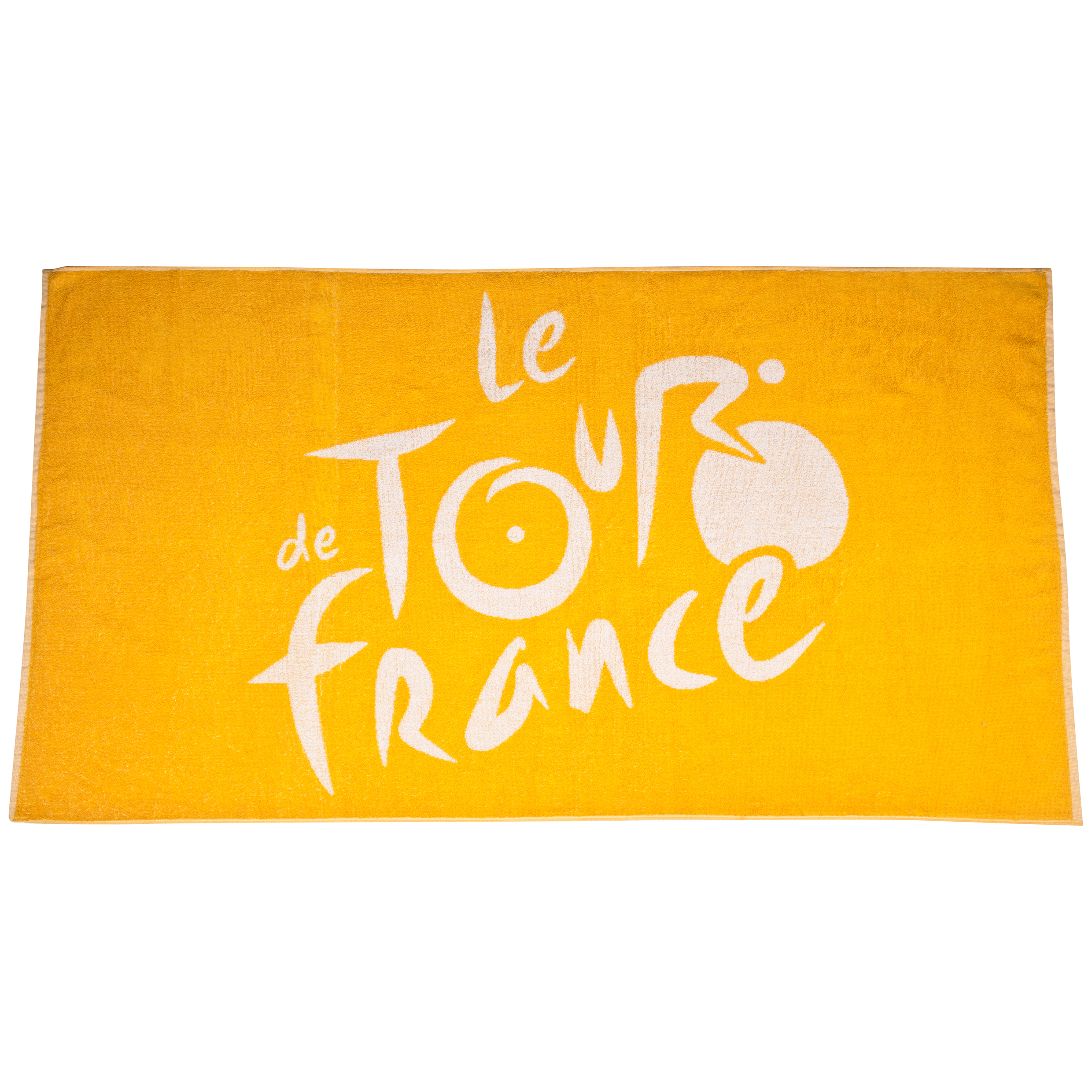 Le Tour de France Beach Towel with Bag - Yellow