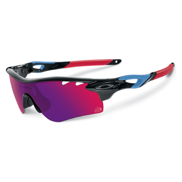 Oakley Tour de France collection radarlock path Sunglasses - positive red iridium vented &G40 vented