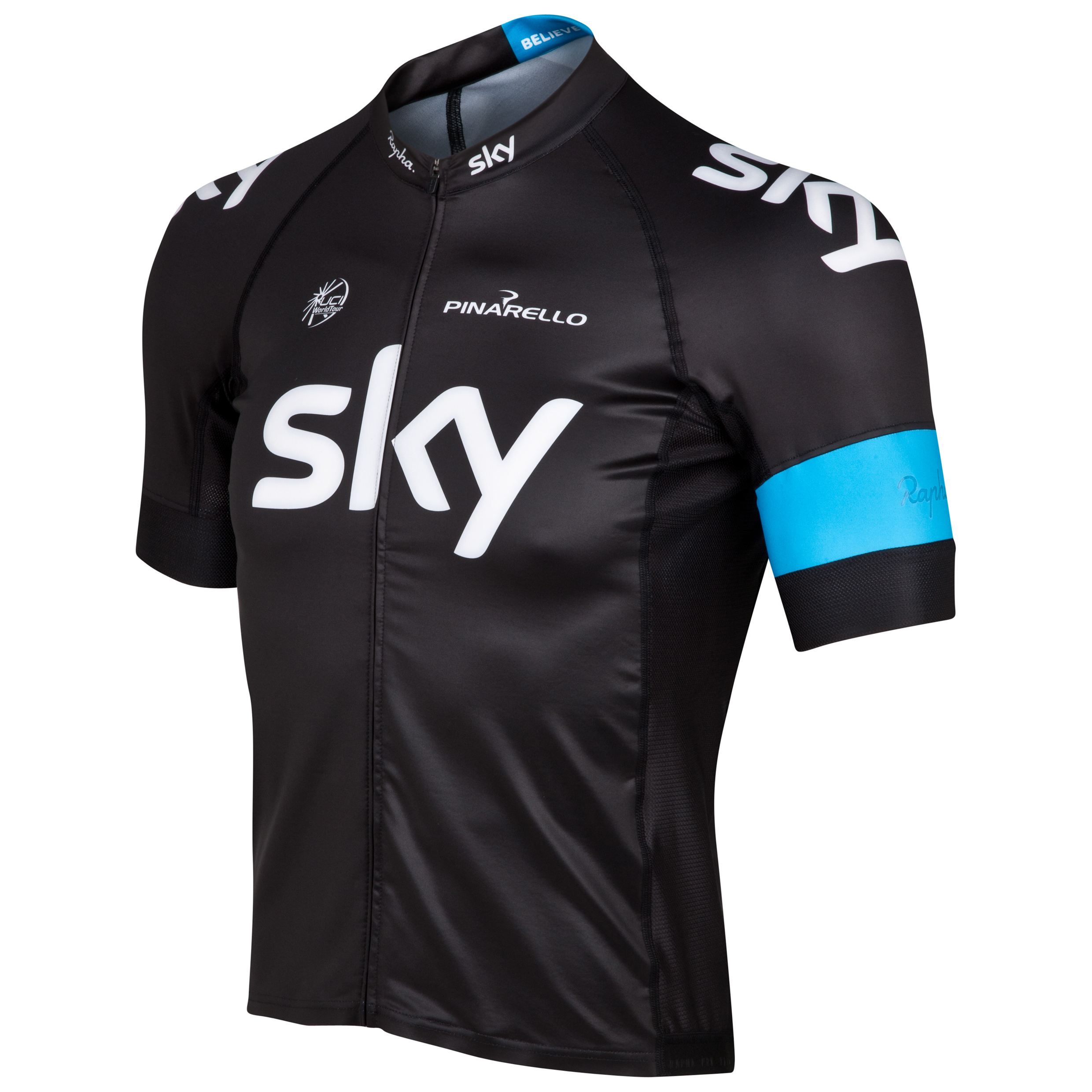 Team Sky Mens Short Sleeve Pro Team Jersey