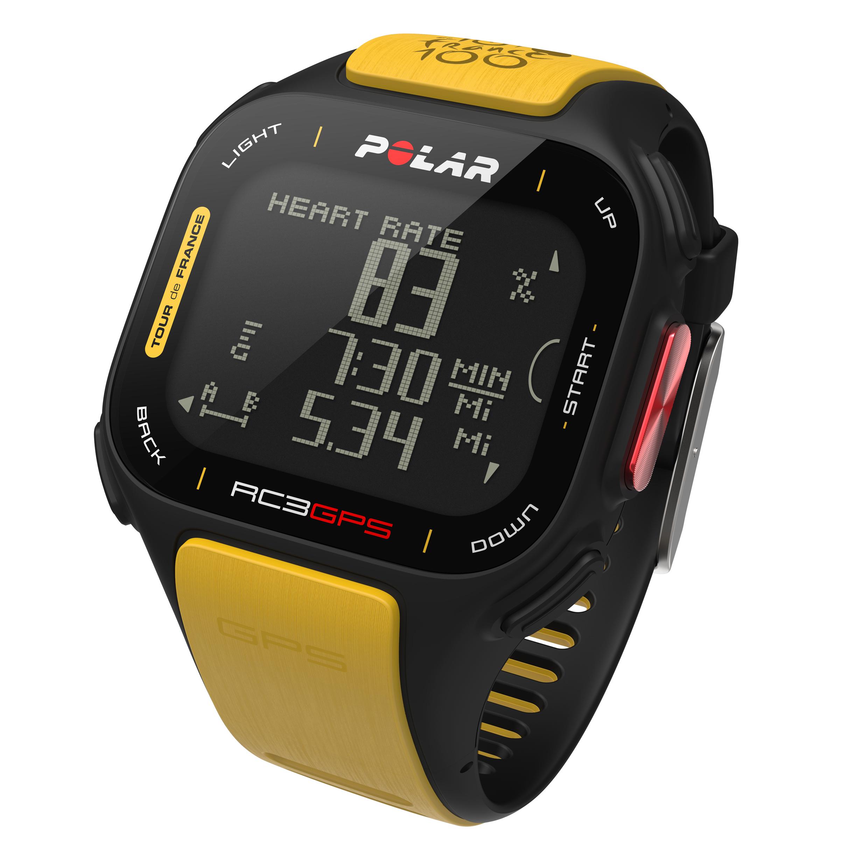 Cardio Polar RC3 GPS Tour de France