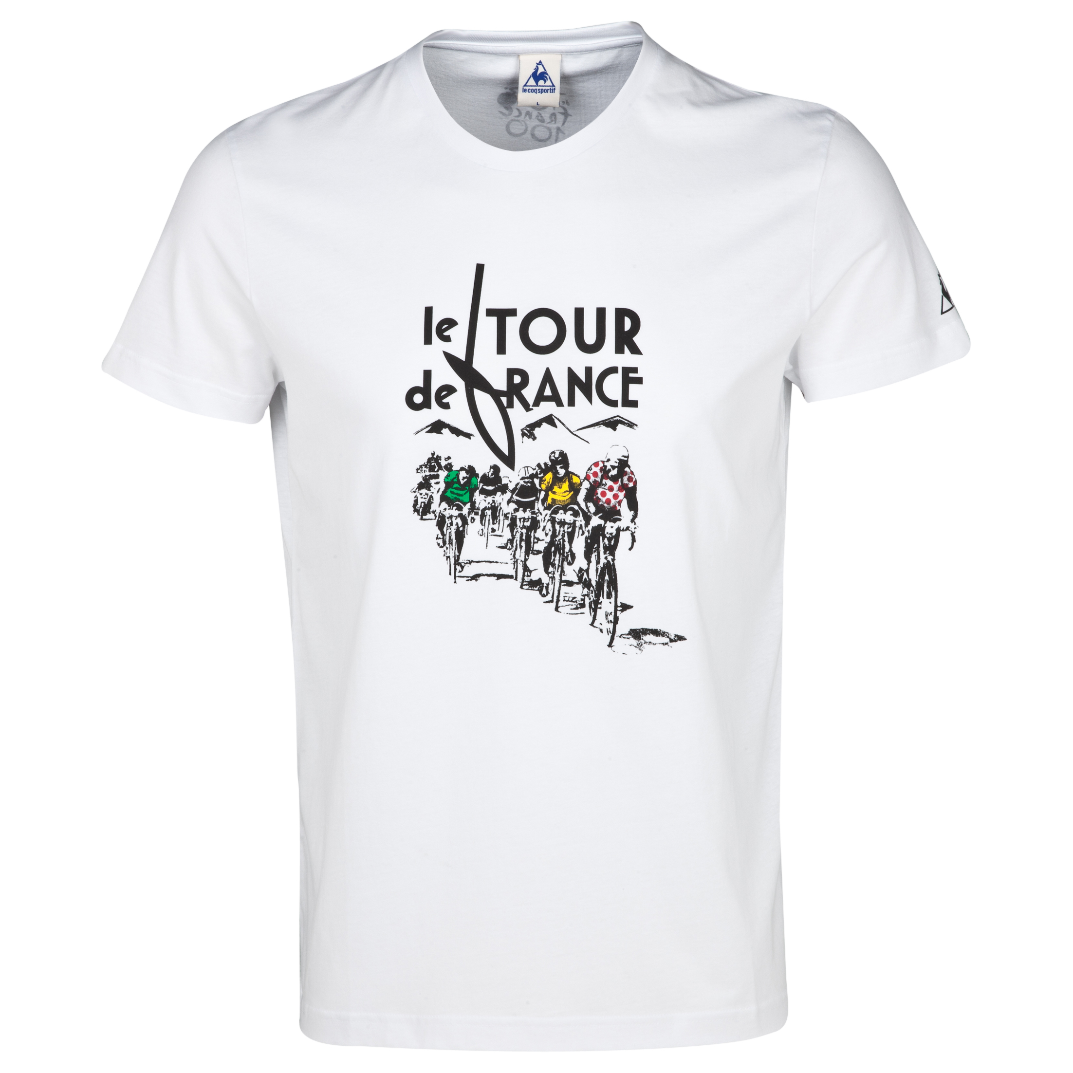 Le Tour de France by Le Coq Sportif No7 T-Shirt White