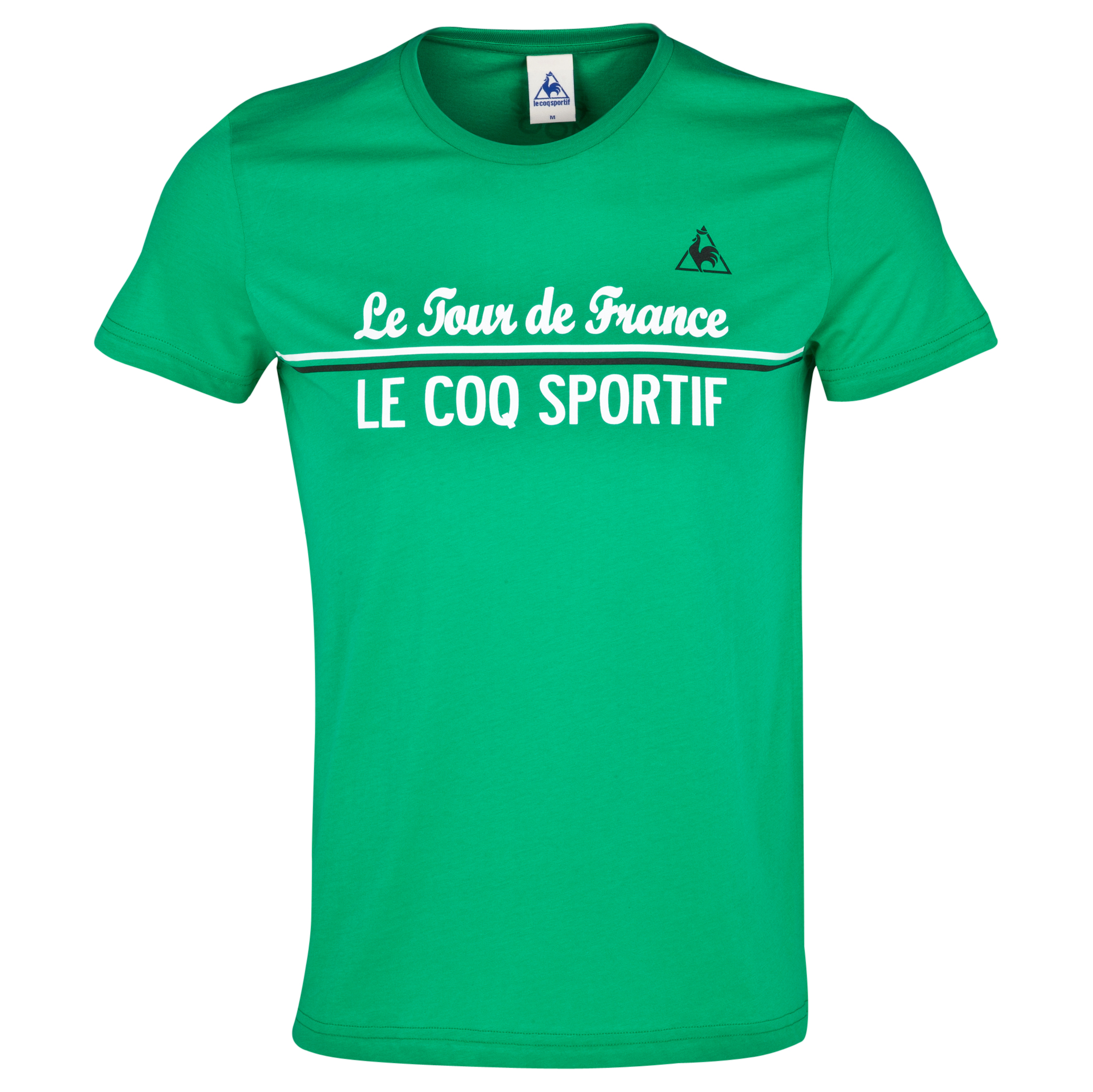 Le Tour de France by Le Coq Sportif No8 T-Shirt Green
