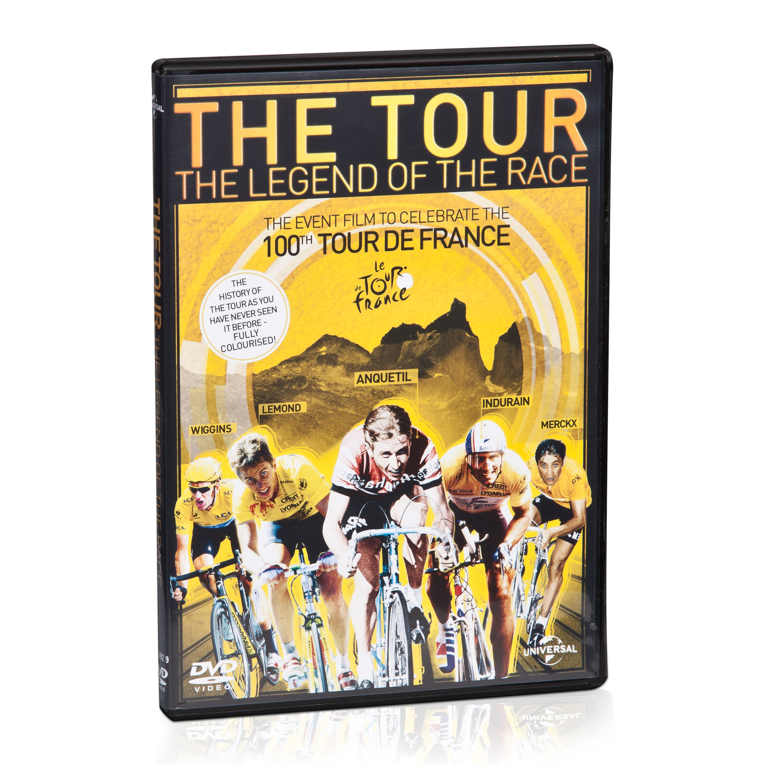 Le Tour de France The Story DVD