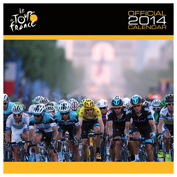 Le Tour de France Official 2014 Calendar