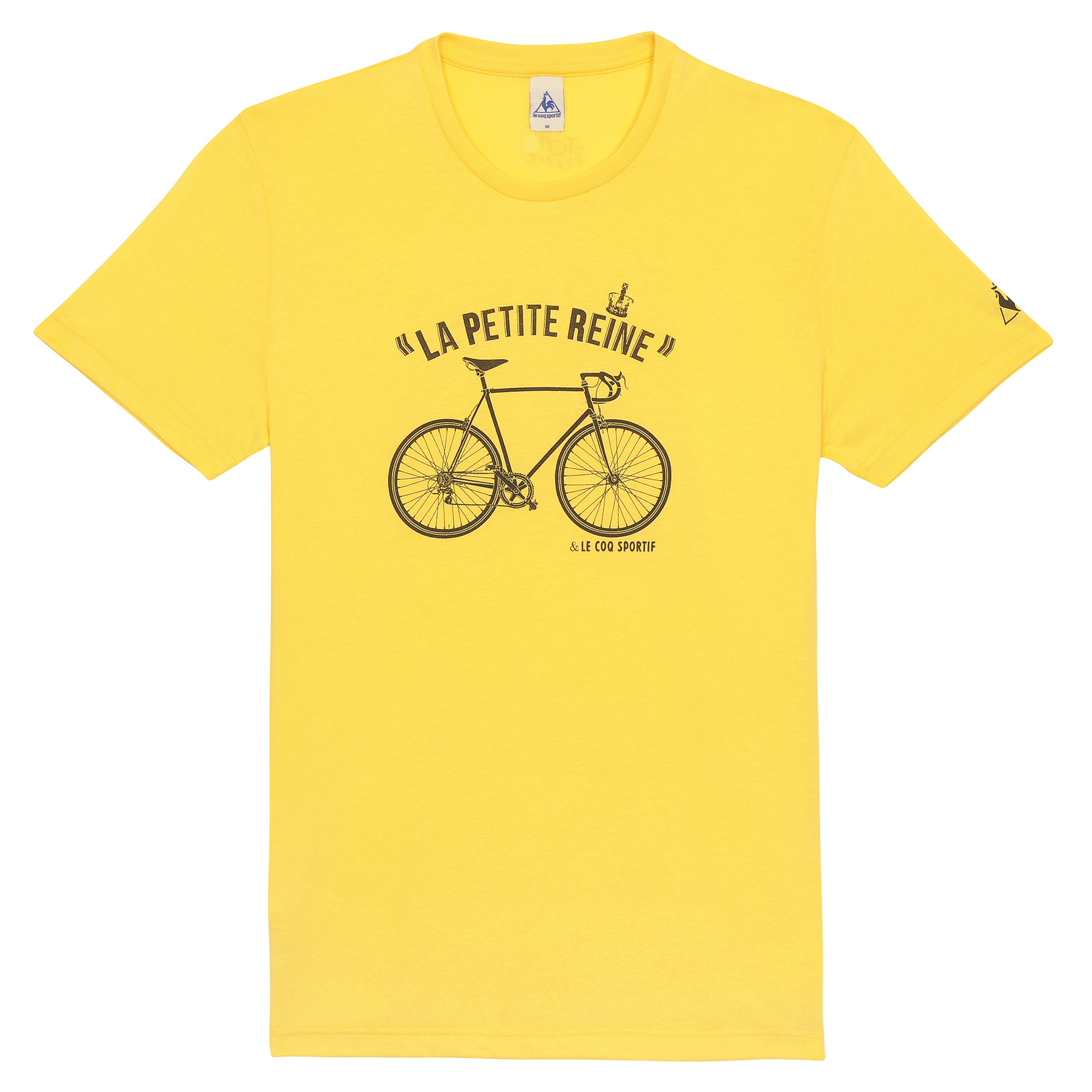 Le Tour de France Le Coq Sportif No 9 T-Shirt - Primrose Yellow