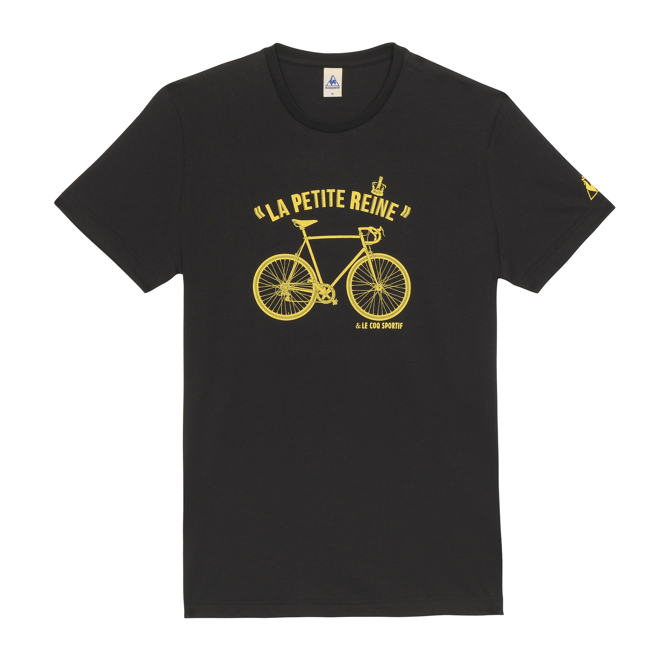 Le Tour de France Le Coq Sportif No 9 T-Shirt - Black