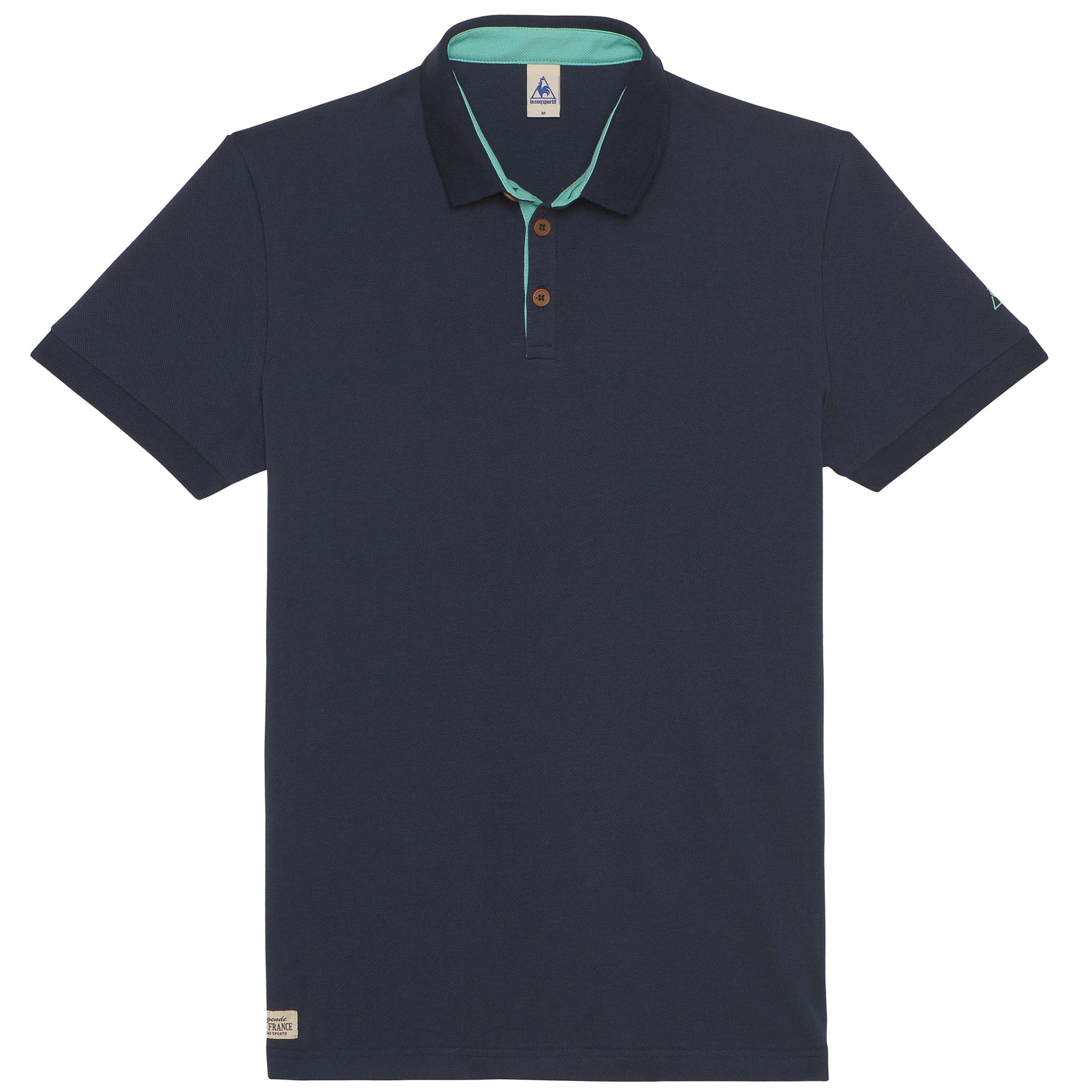 Le Tour de France Le Coq Sportif La Grande Boucle Polo - Dress Blues