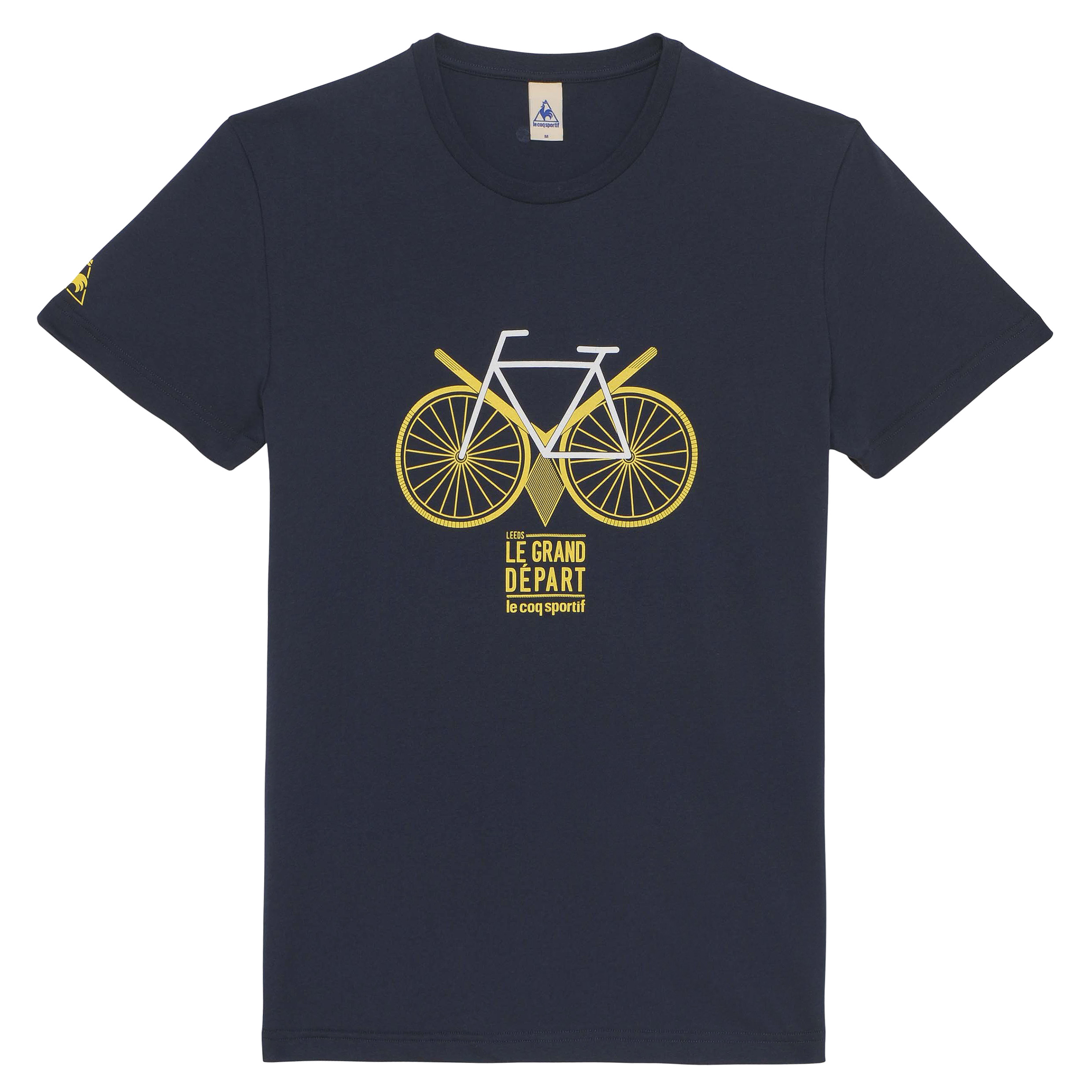 Le Tour de France Le Coq Sportif No 13 T-Shirt - Dress Blues