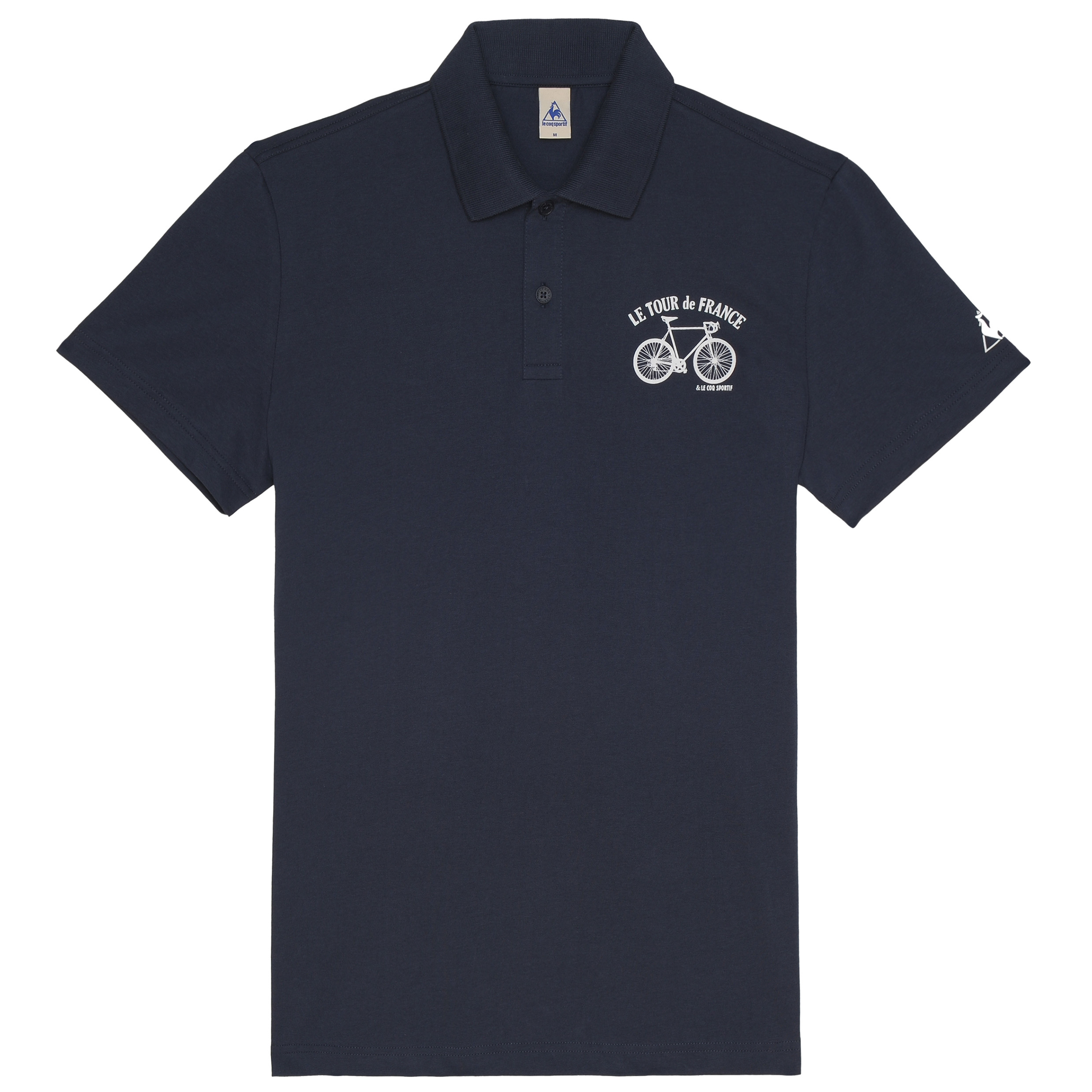 Le Tour de France Le Coq Sportif No 3 Polo - Dress Blues