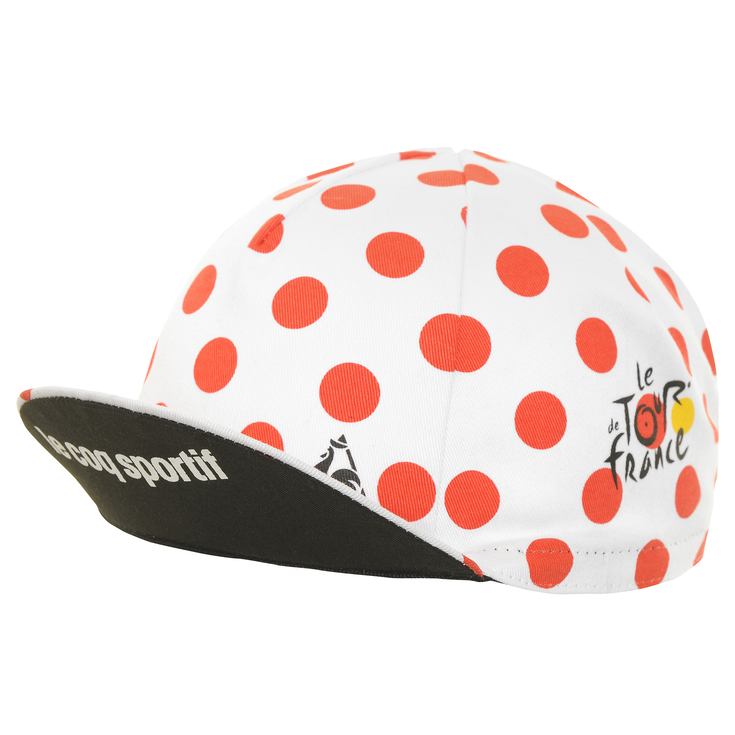 Le Tour de France Le Coq Sportif Cycling Cap - Polka