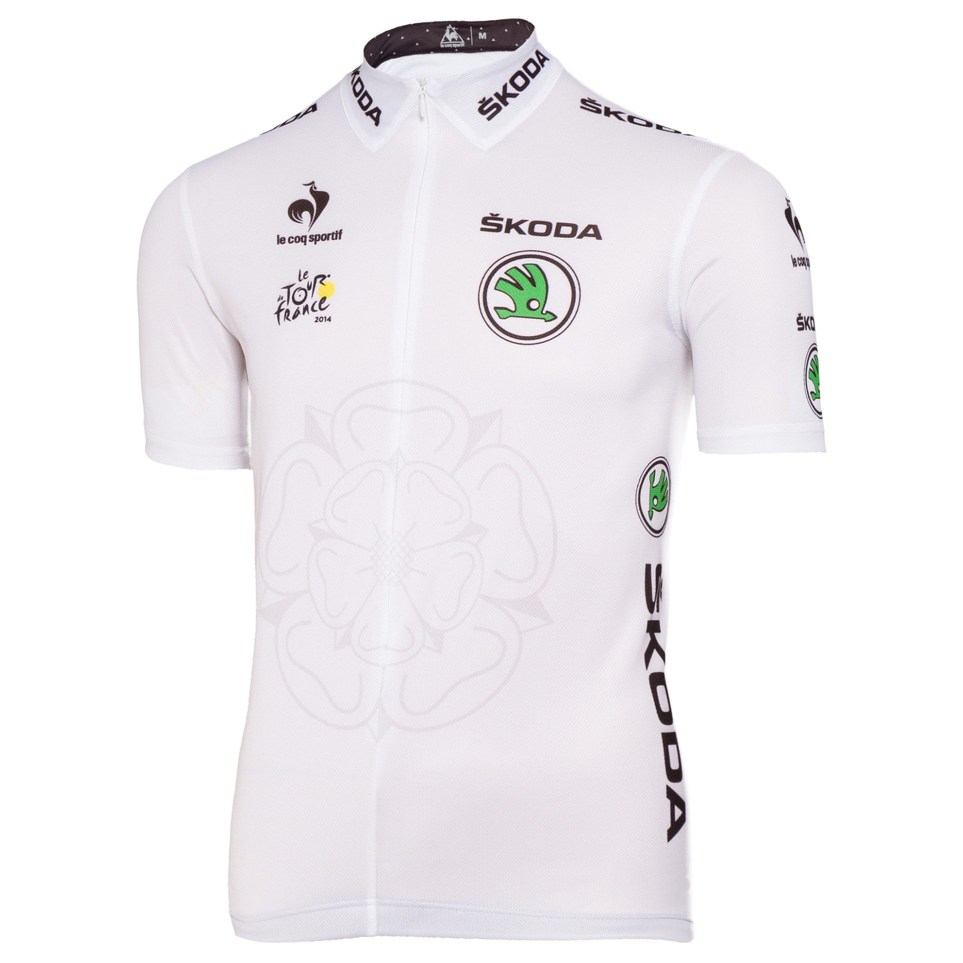 Le Tour de France Le Coq Sportif Replica Jersey - White