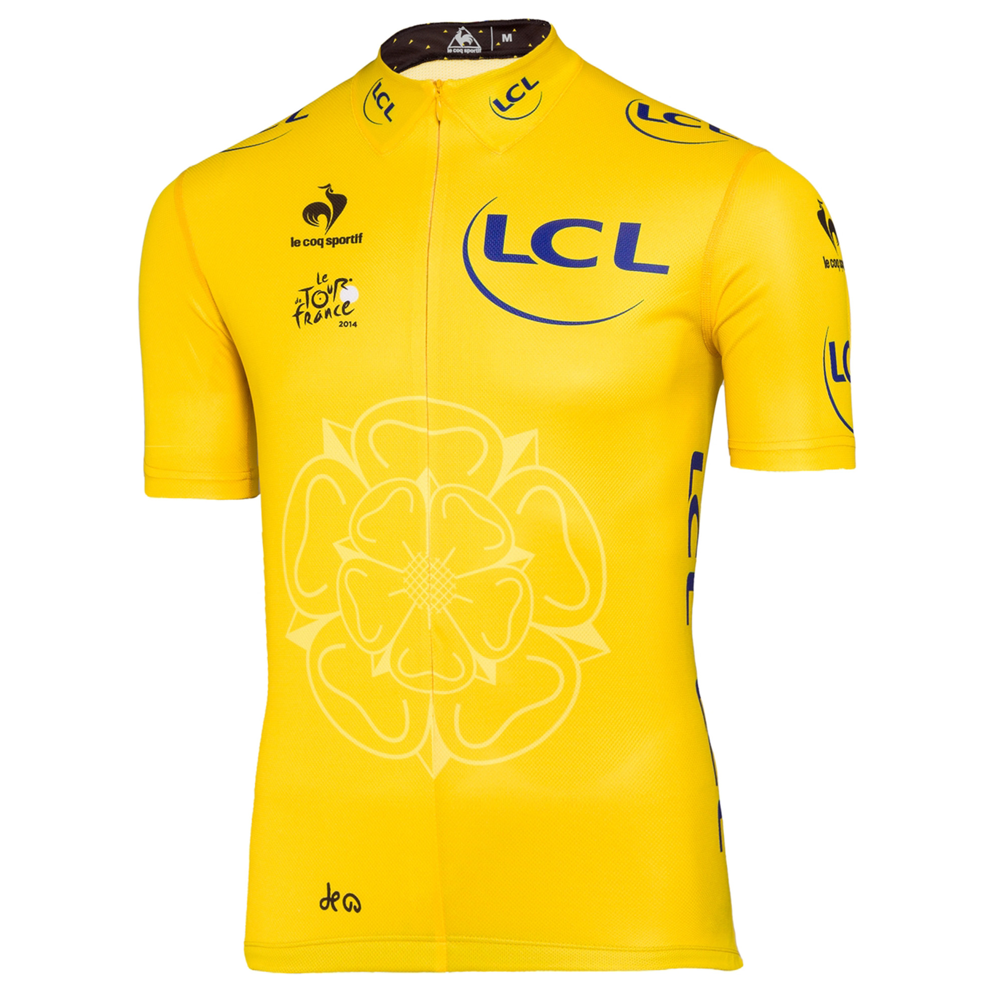 Le Tour de France Le Coq Sportif Replica Jersey - Yellow - Kids