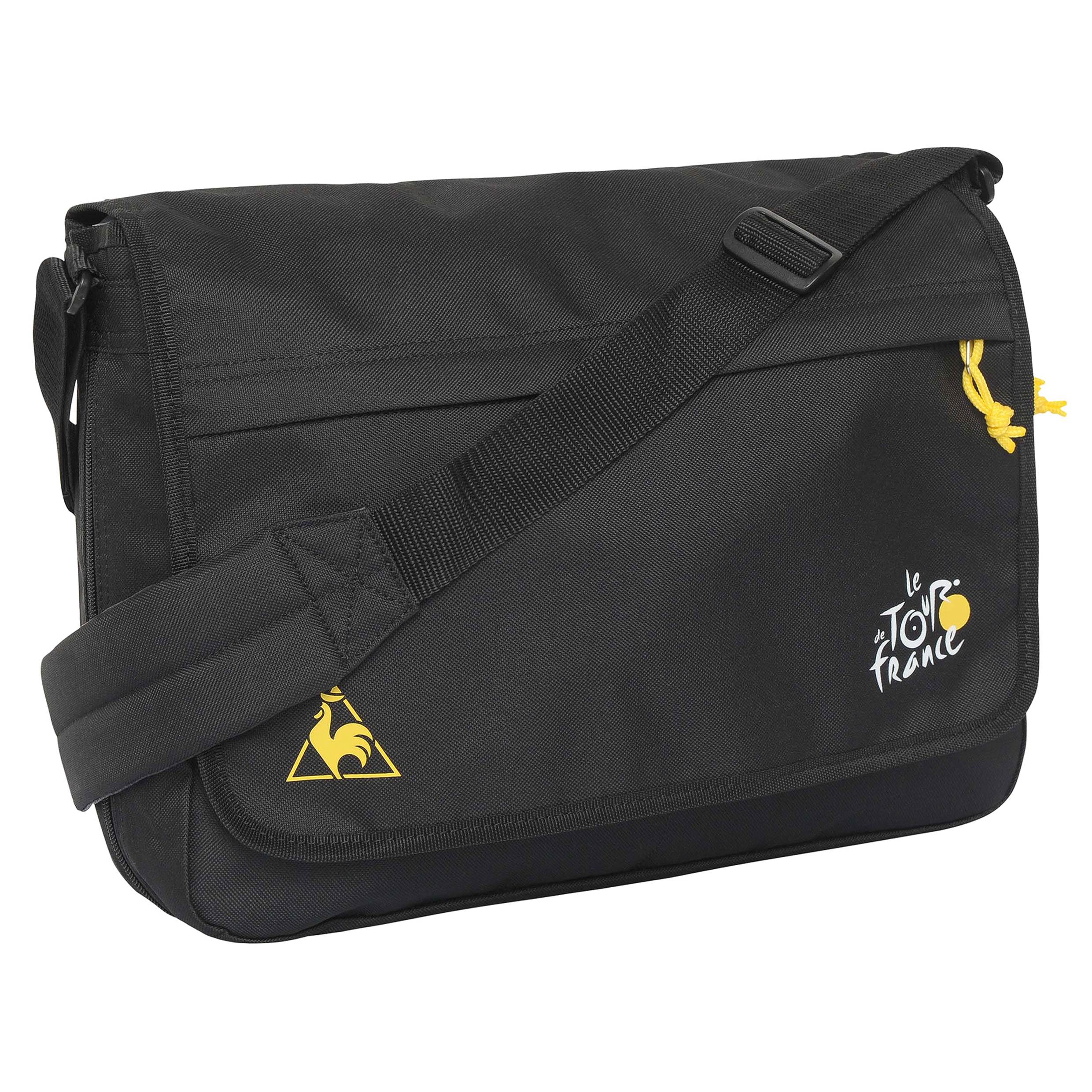 Le Tour de France Le Coq Sportif Messenger Bag - Black