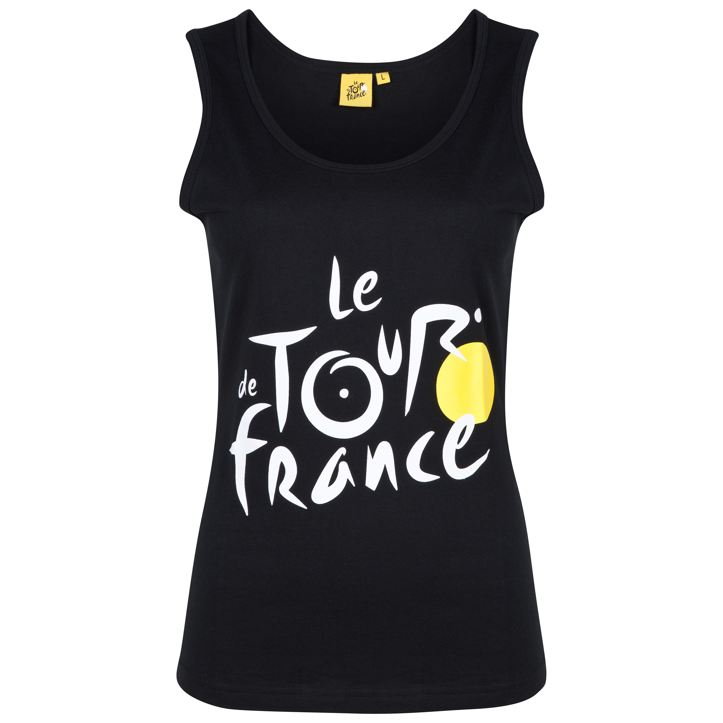 Le Tour de France Logo Vest - Black - Womens