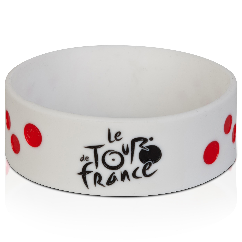 Le Tour de France Silicone Bracelet - Polka