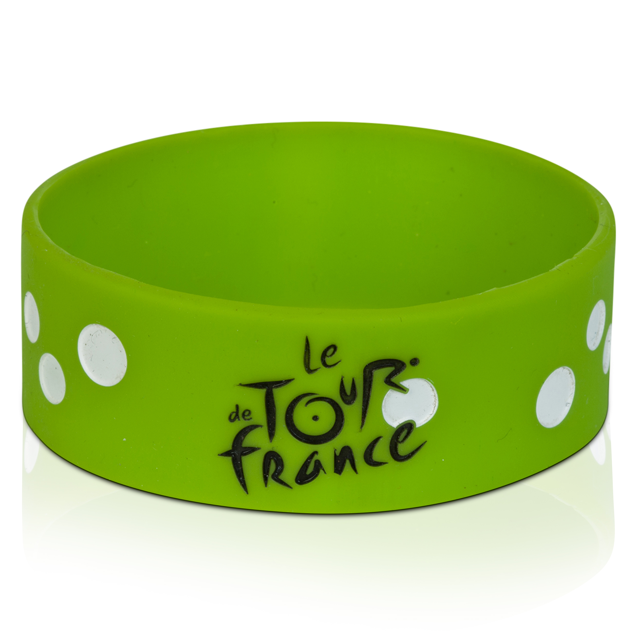 Le Tour de France Silicone Bracelet - Green