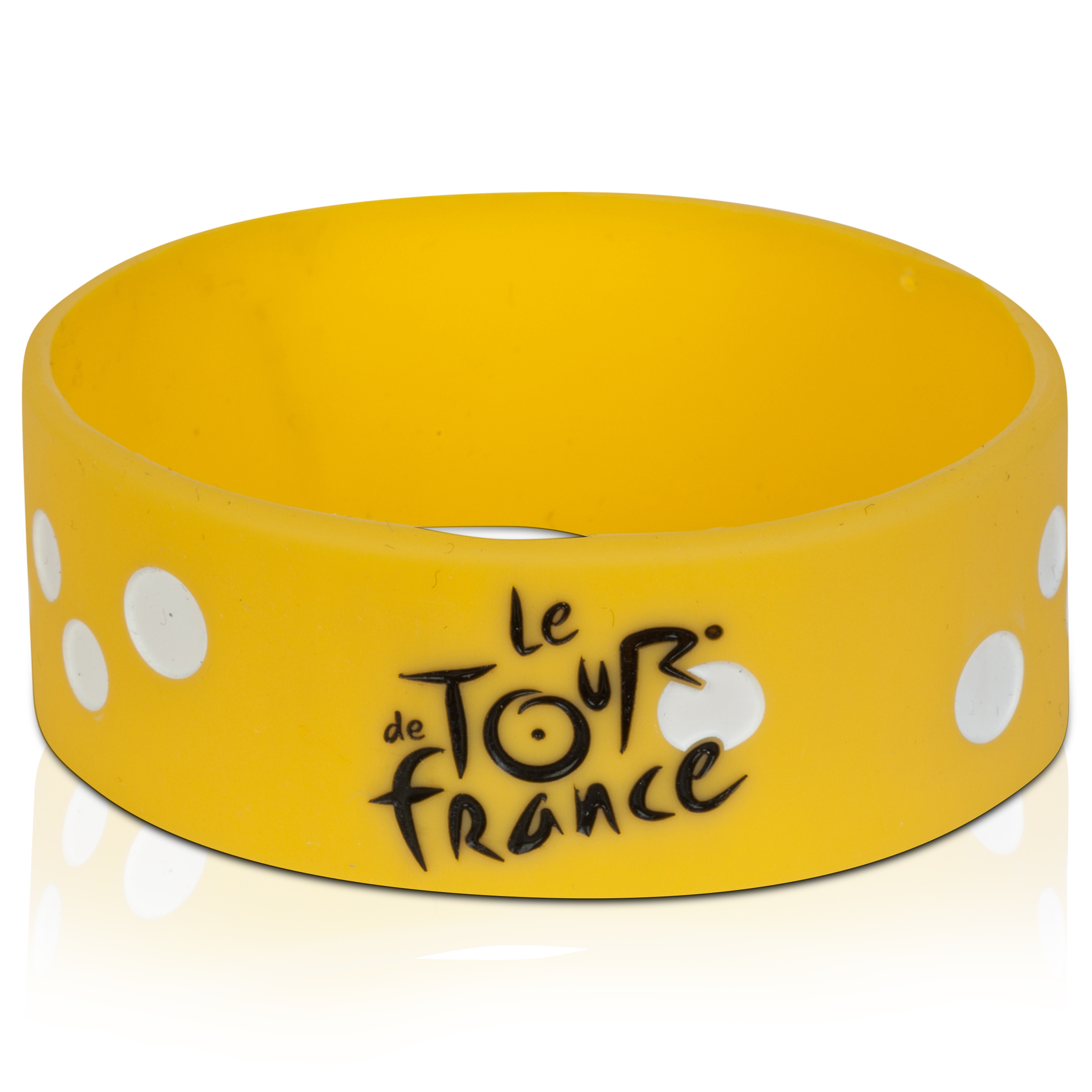 Le Tour de France Silicone Bracelet - Yellow