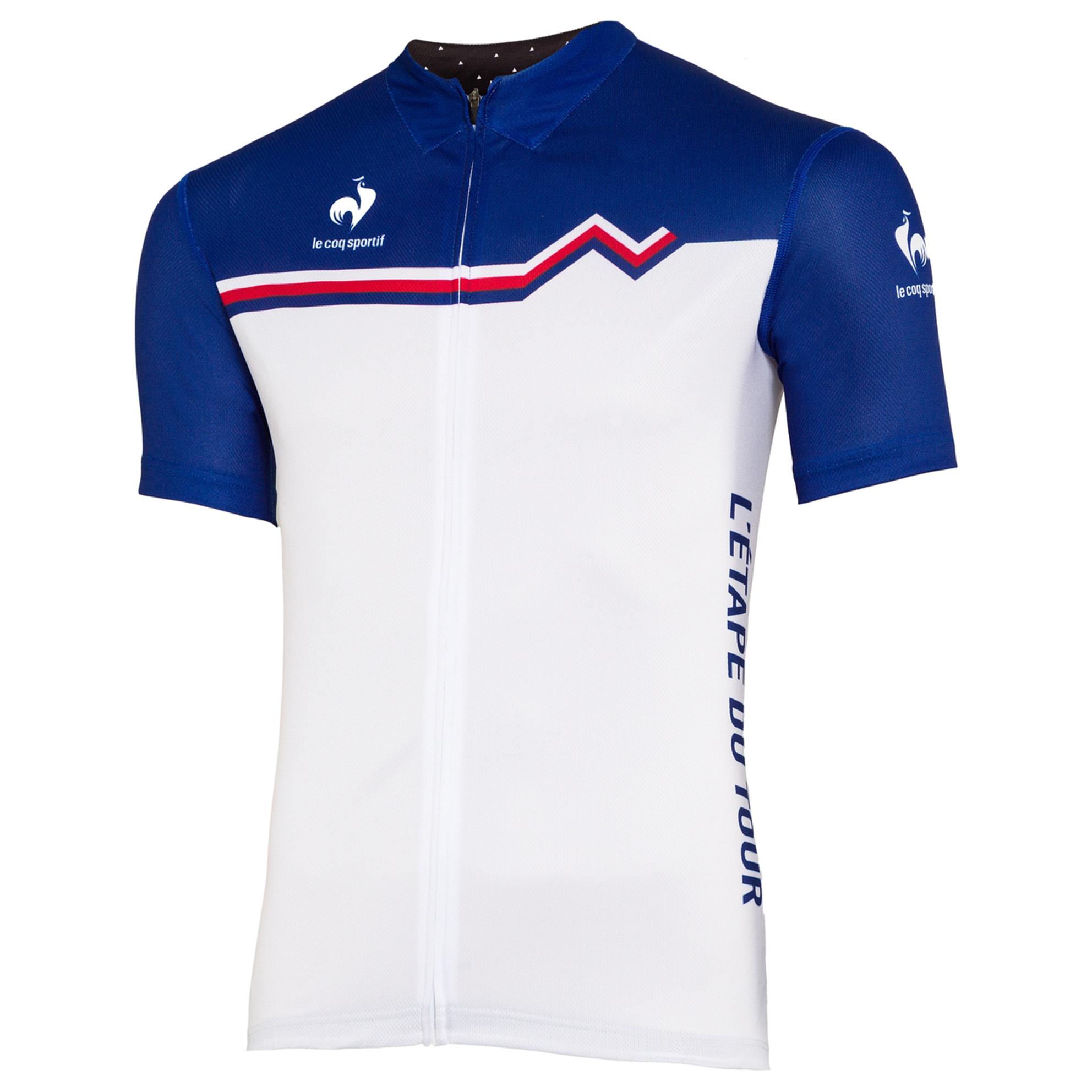 Le Tour de France Le Coq Sportif Etape Du Tour Jersey