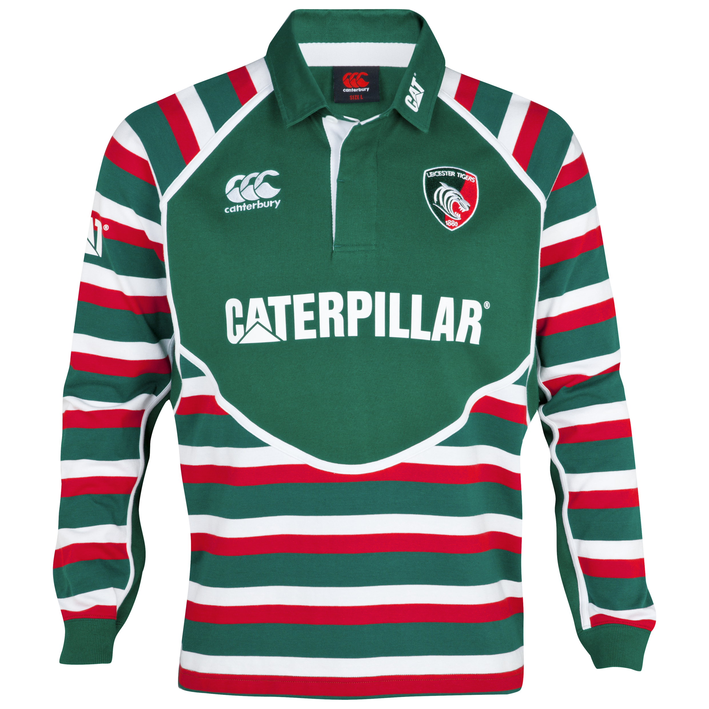 Leicester Tigers Home Classic Jersey 2012/13 - Long Sleeved