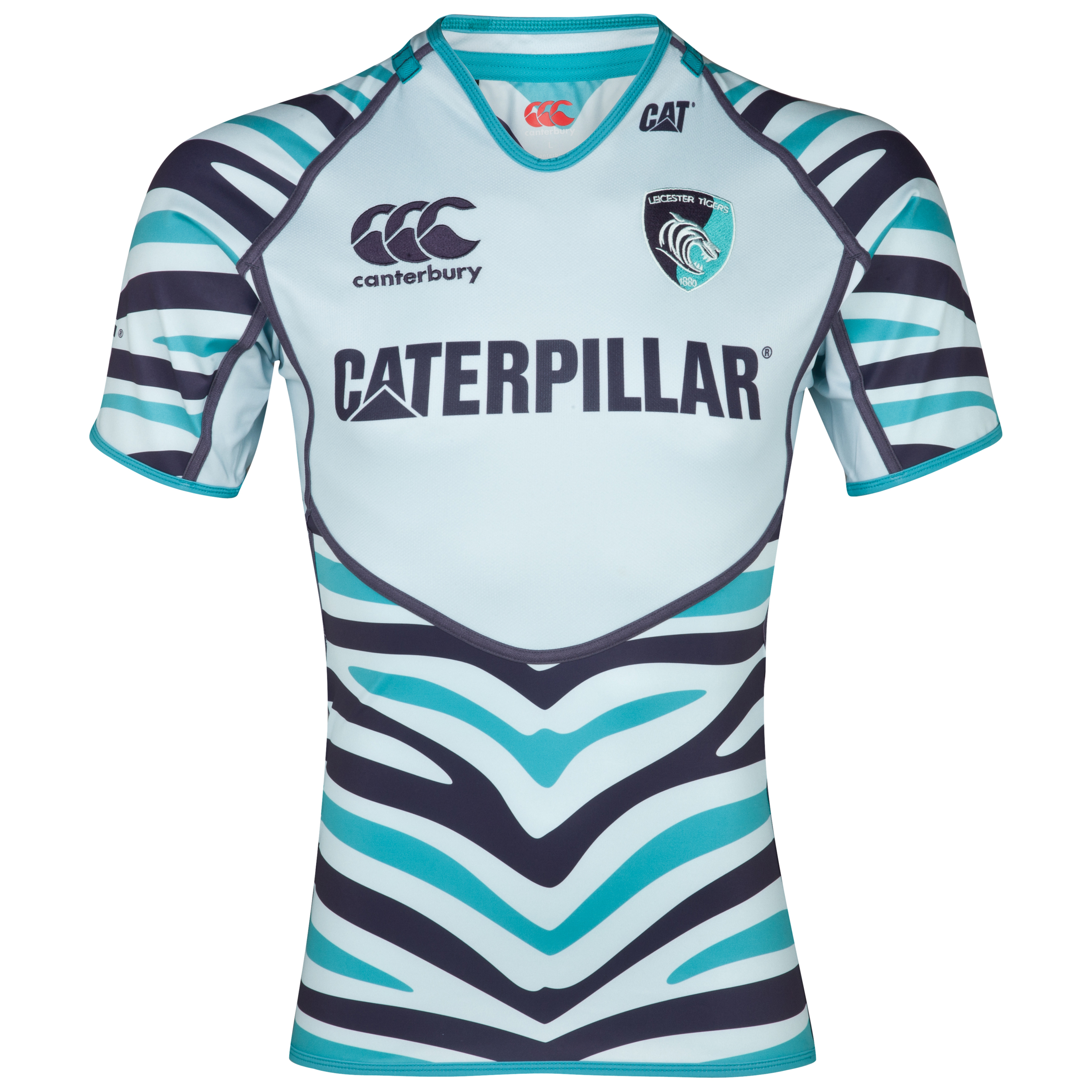 Leicester Tigers Alternate Test Jersey  2012/13