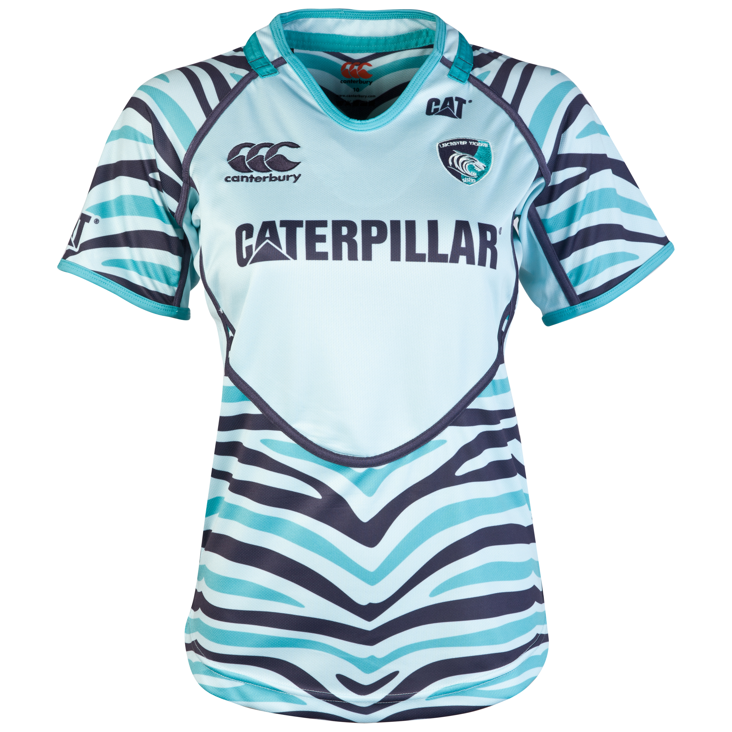 Leicester Tigers Alternate Pro Jersey 2012/13 - Womens