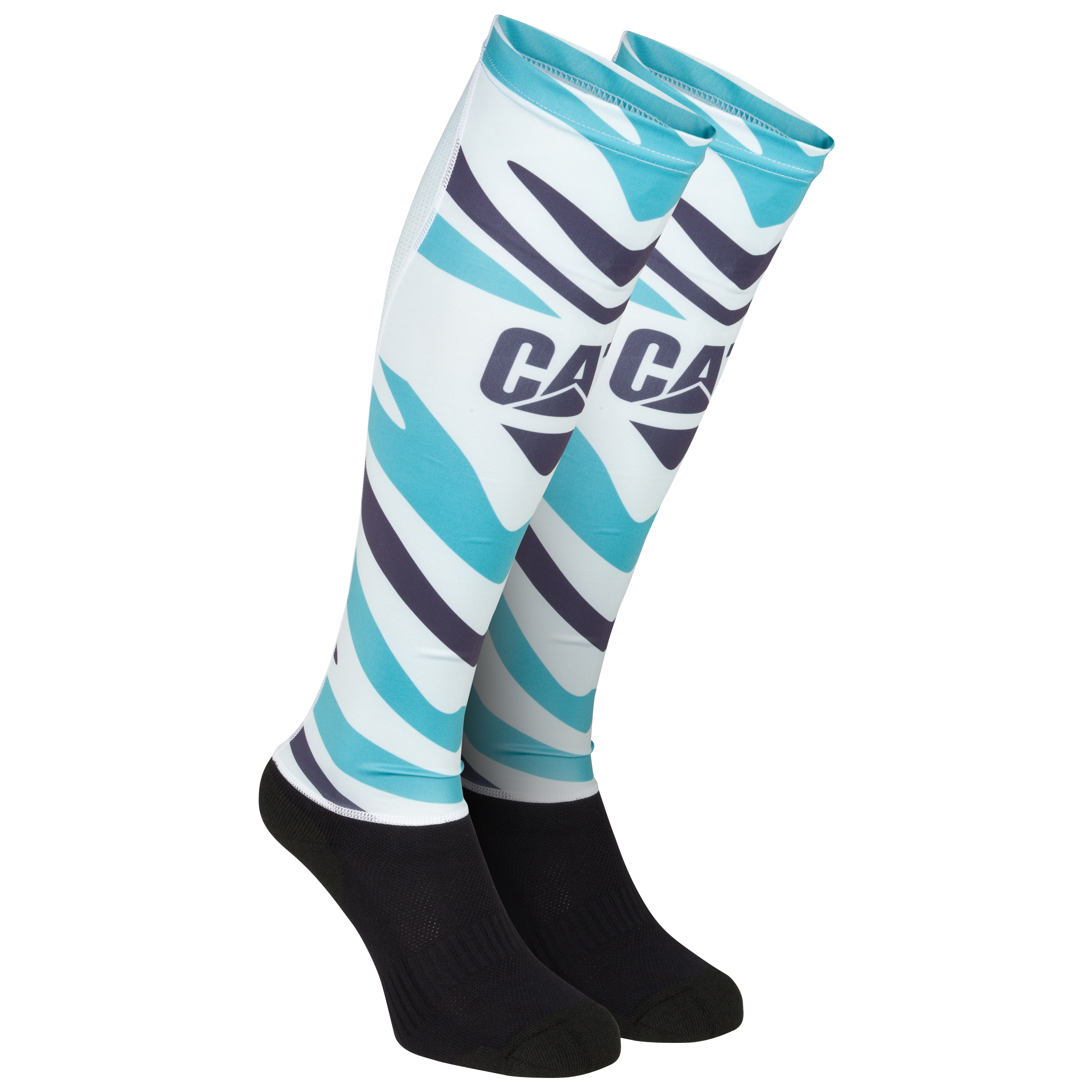 Leicester Tigers Alternate Hybrid Socks 2012/13