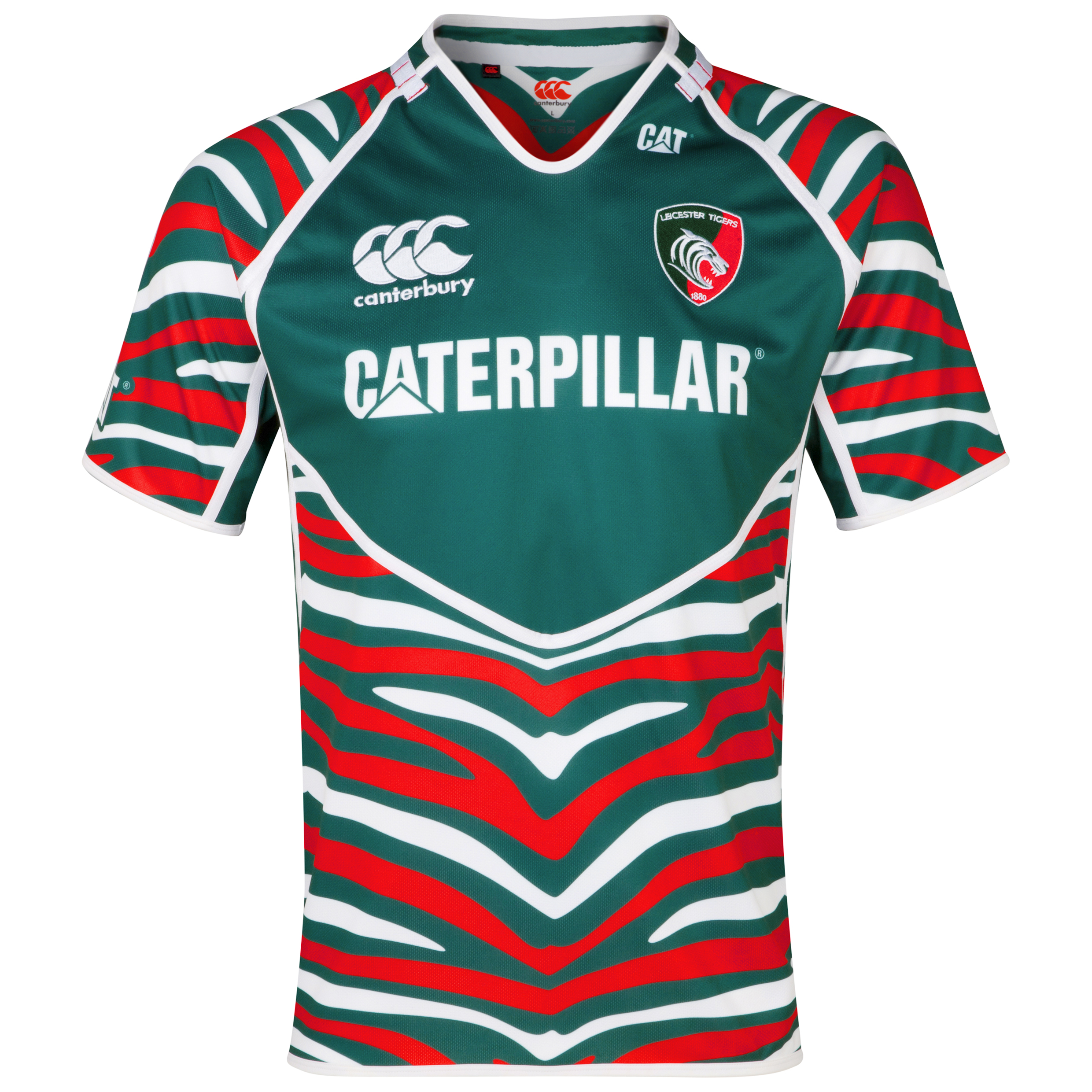 Leicester Tigers Home Pro Jersey 2012/13 - Junior
